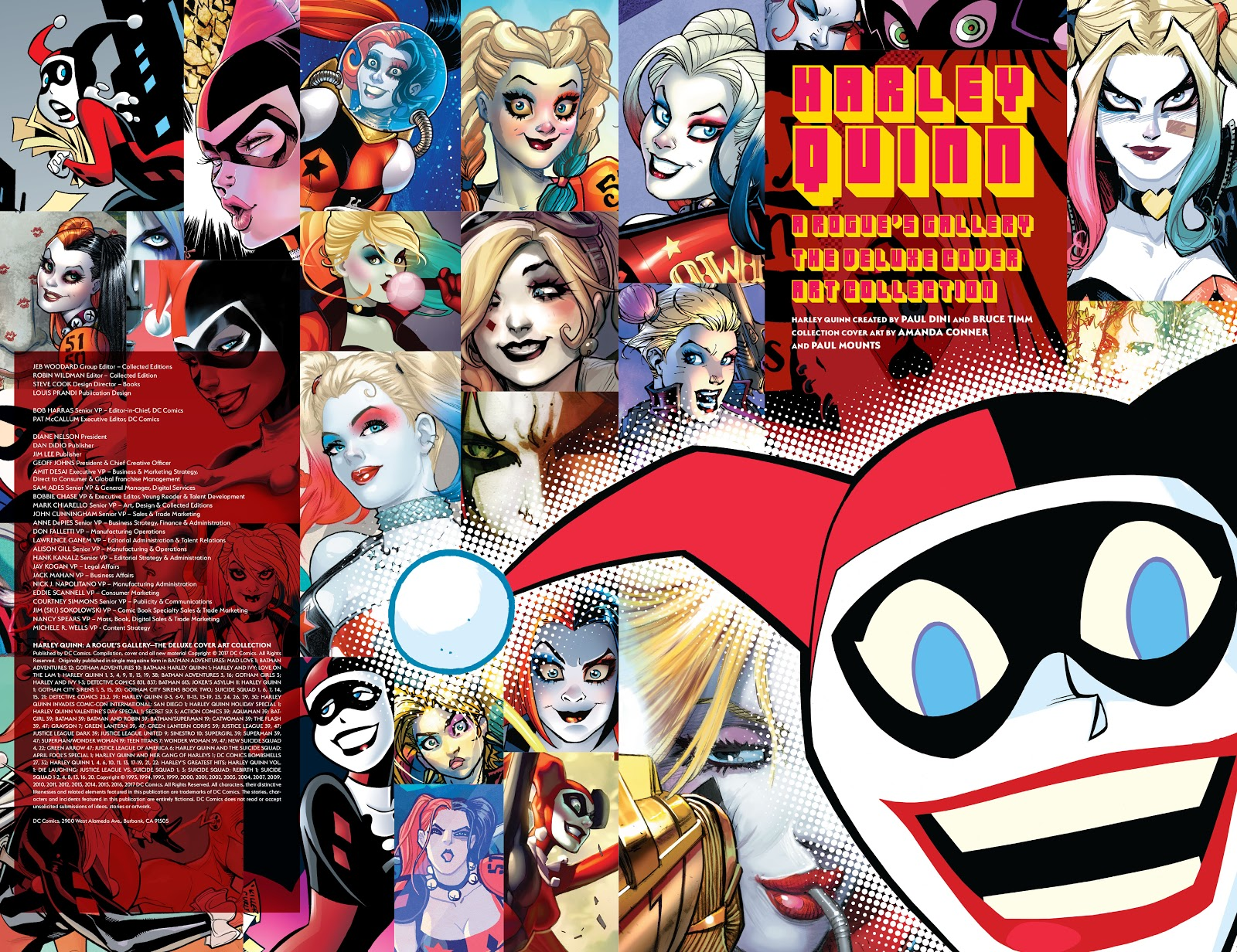 Read online Harley Quinn: A Rogue's Gallery―The Deluxe Cover Art Collection comic -  Issue # TPB (Part 1) - 3