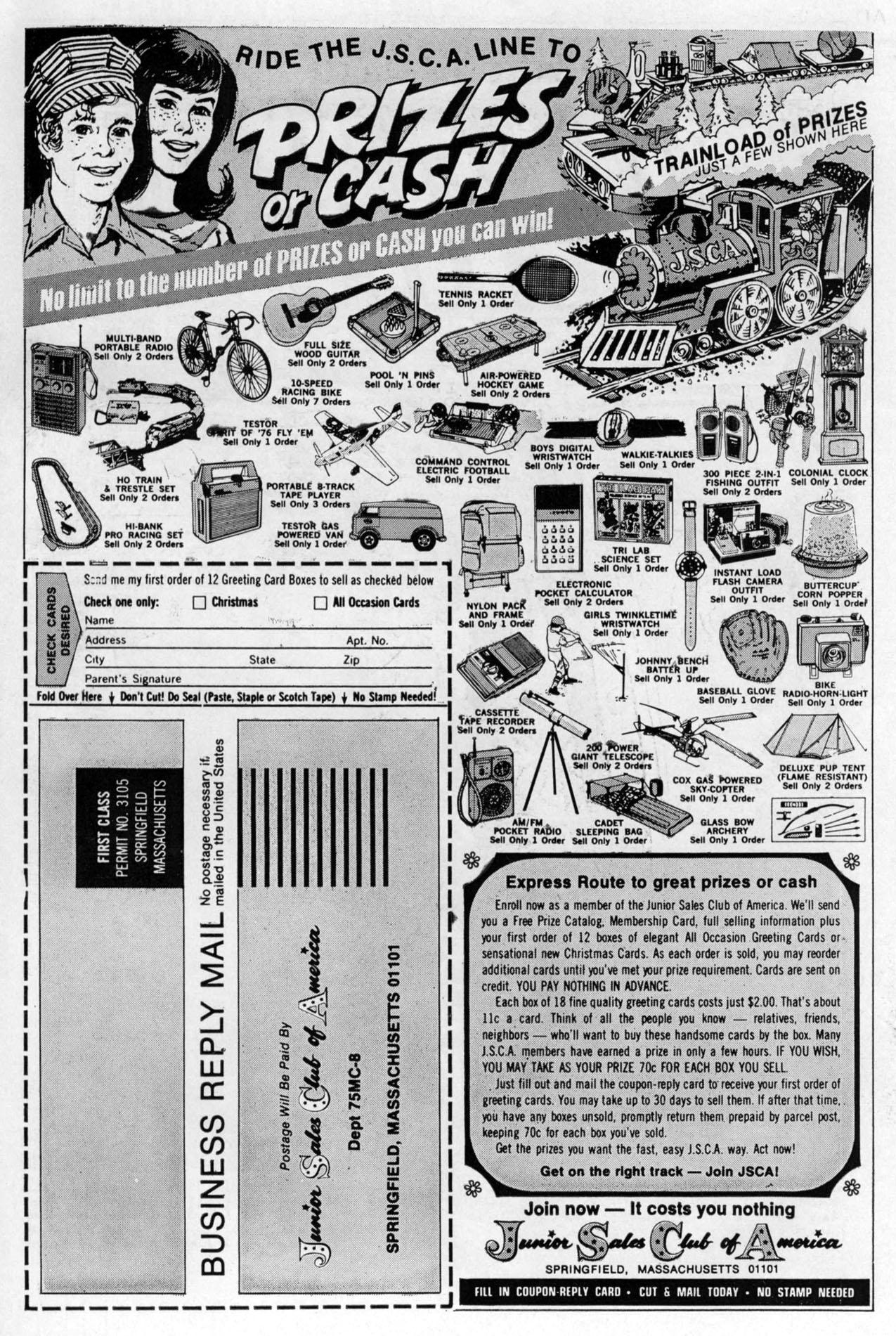 Read online Amazing Adventures (1970) comic -  Issue #33 - 2