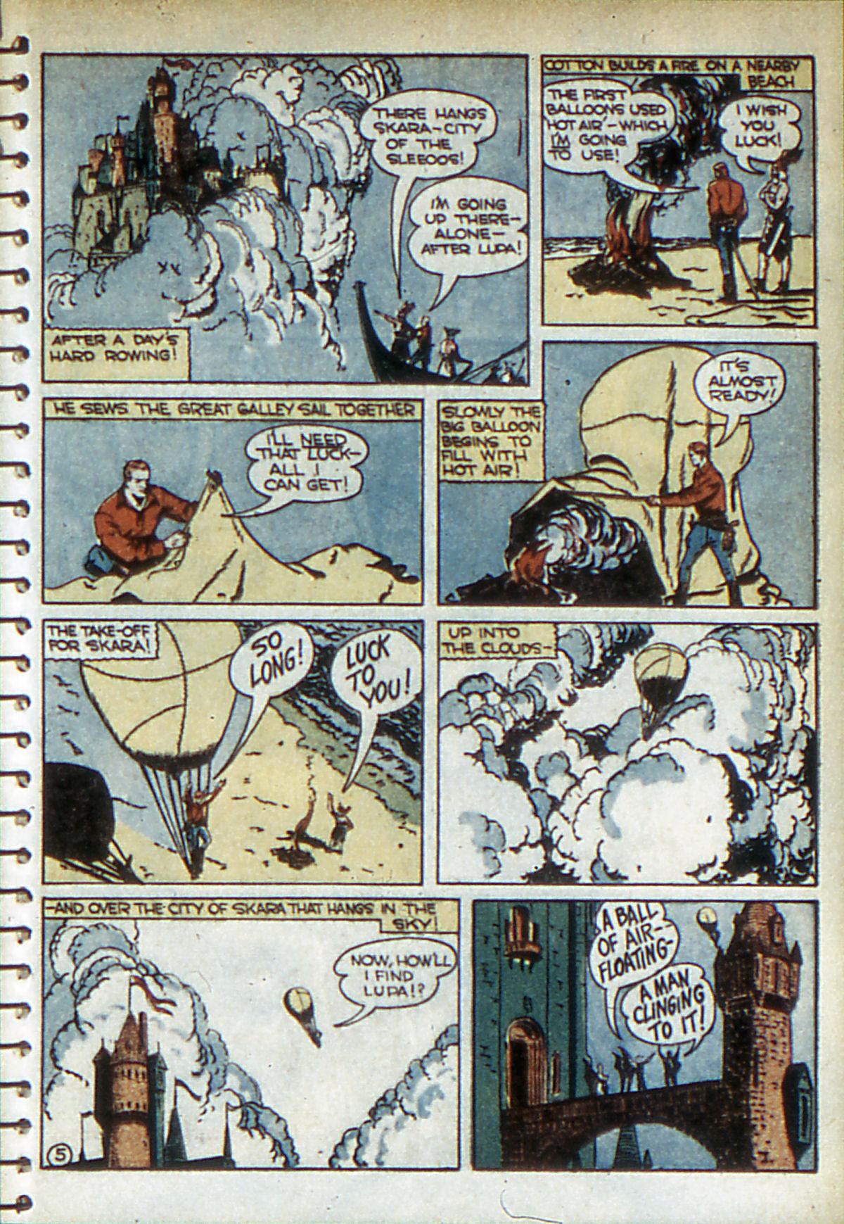 Read online Adventure Comics (1938) comic -  Issue #52 - 45