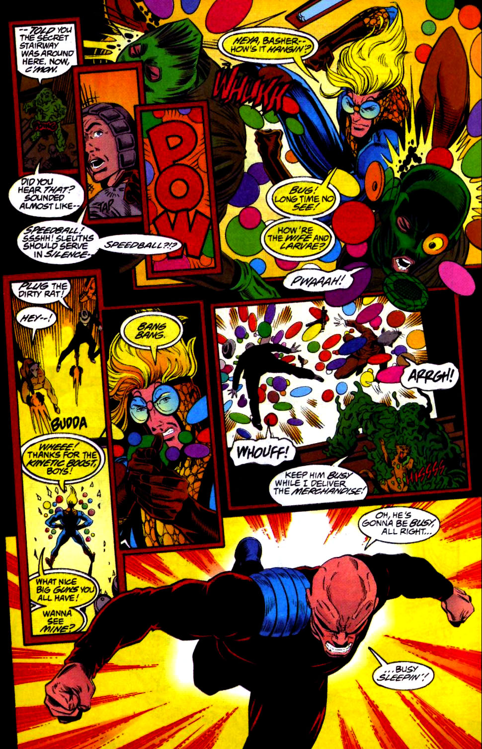 The New Warriors Issue #66 #70 - English 15