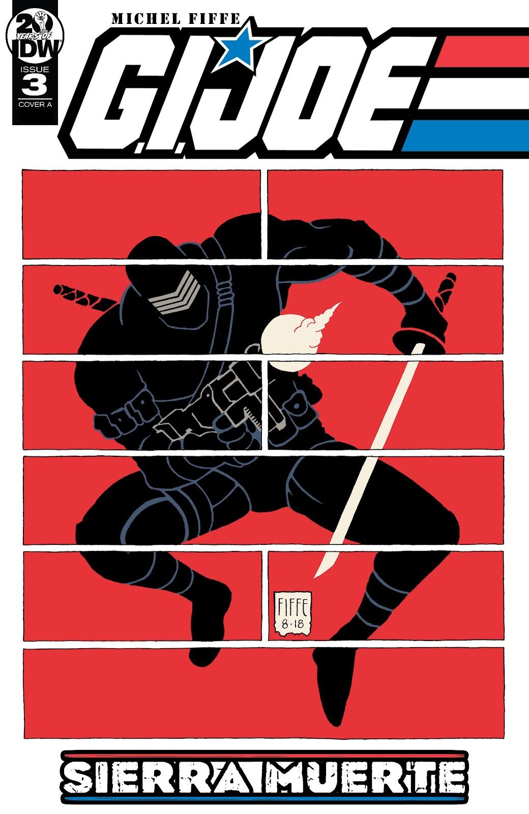 Read online G.I. Joe: Sierra Muerte comic -  Issue #3 - 1