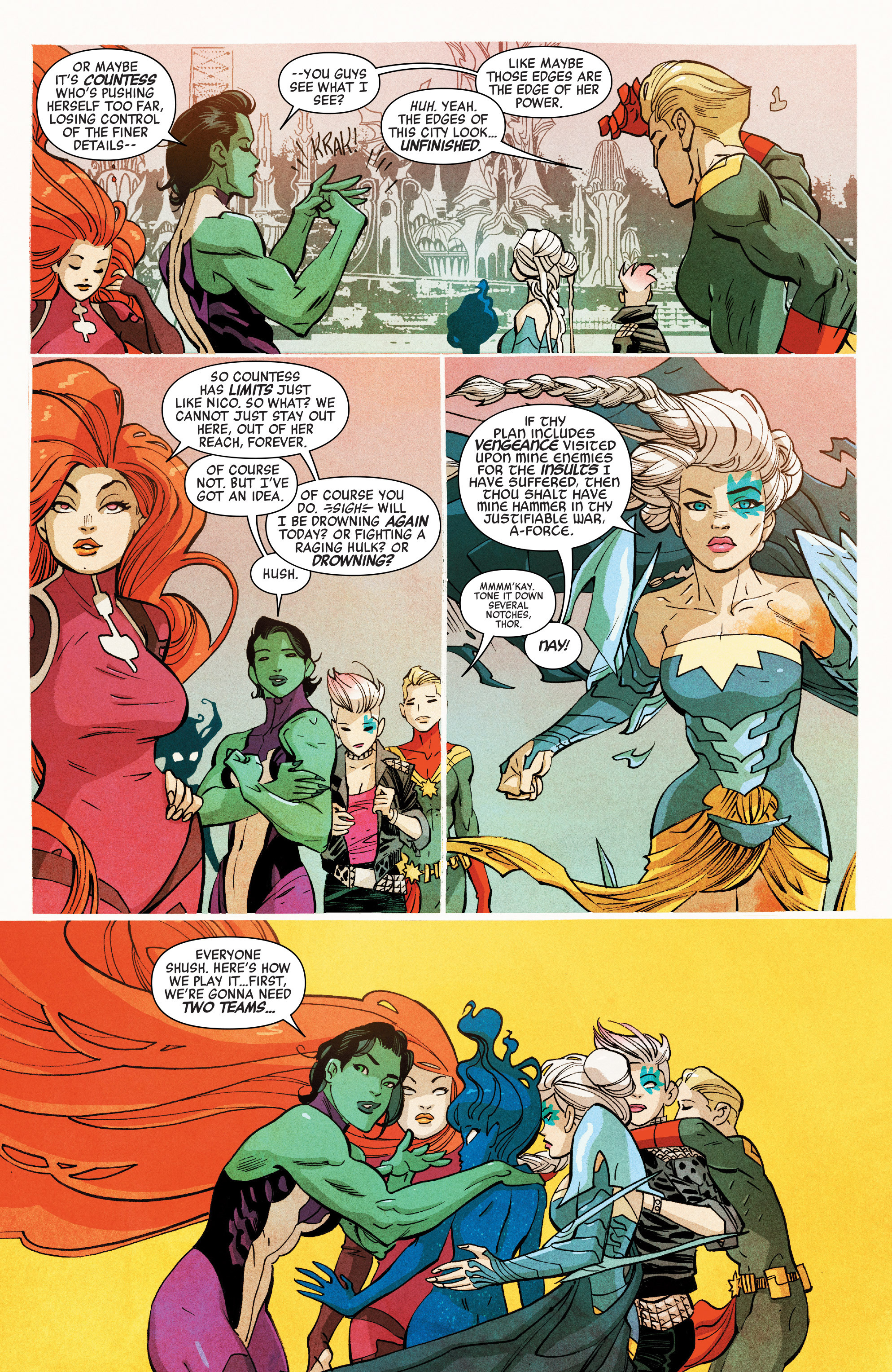 Read online A-Force (2016) comic -  Issue #7 - 5