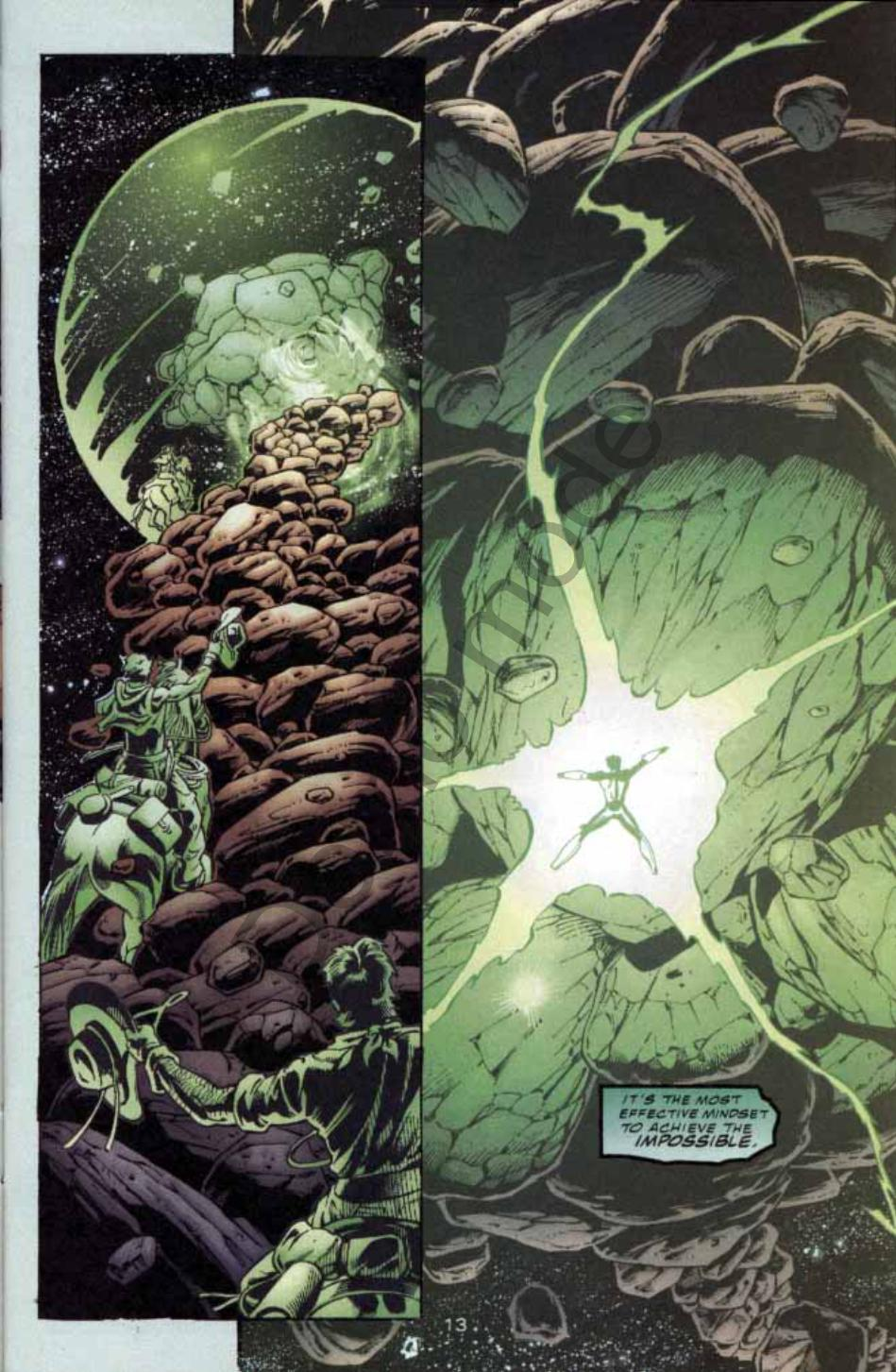 Read online Green Lantern: Our Worlds At War comic -  Issue # Full - 12
