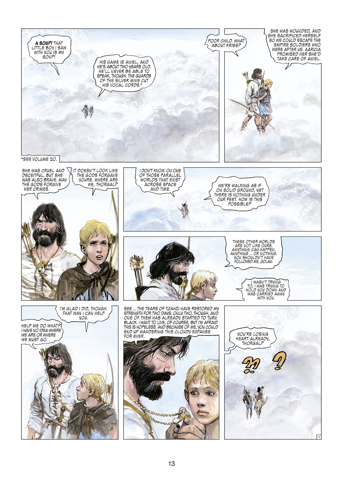 Read online Thorgal comic -  Issue #21 - 15