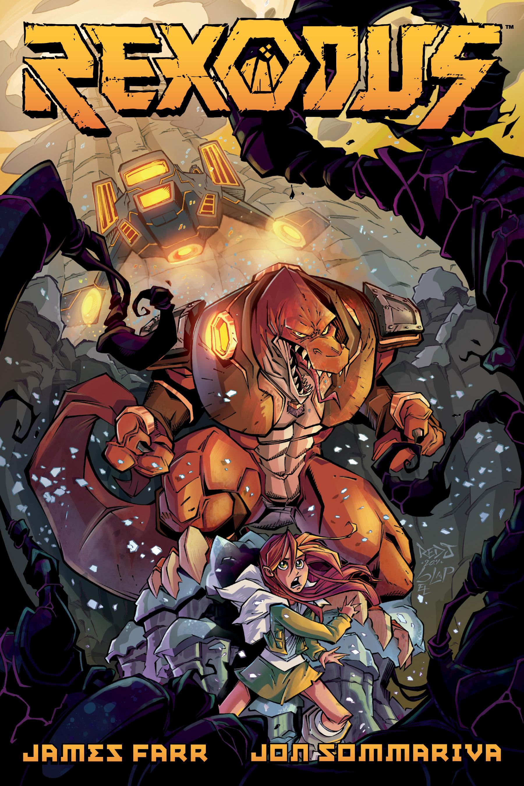 Read online Rexodus comic -  Issue # Full - 1
