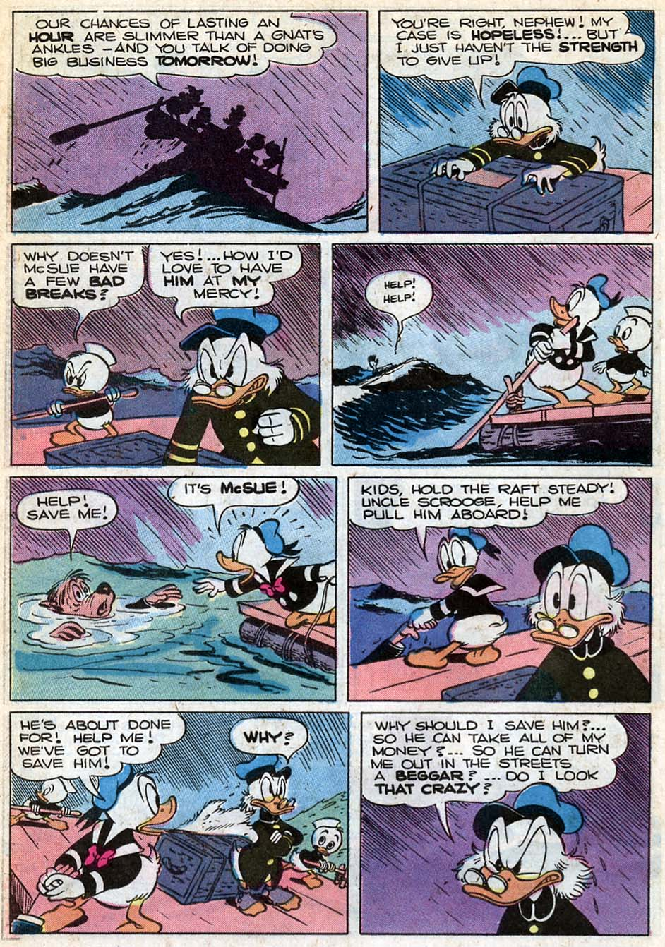 Read online Uncle Scrooge (1953) comic -  Issue #181 - 26