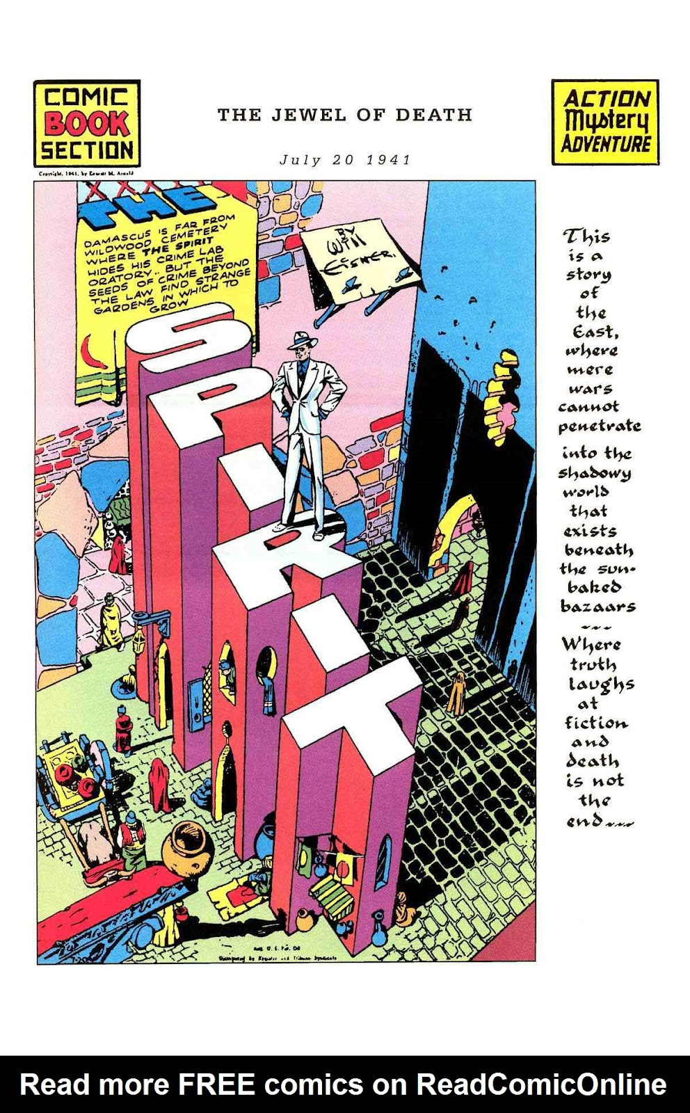 Read online Will Eisner's The Spirit Archives comic -  Issue # TPB 3 (Part 1) - 18
