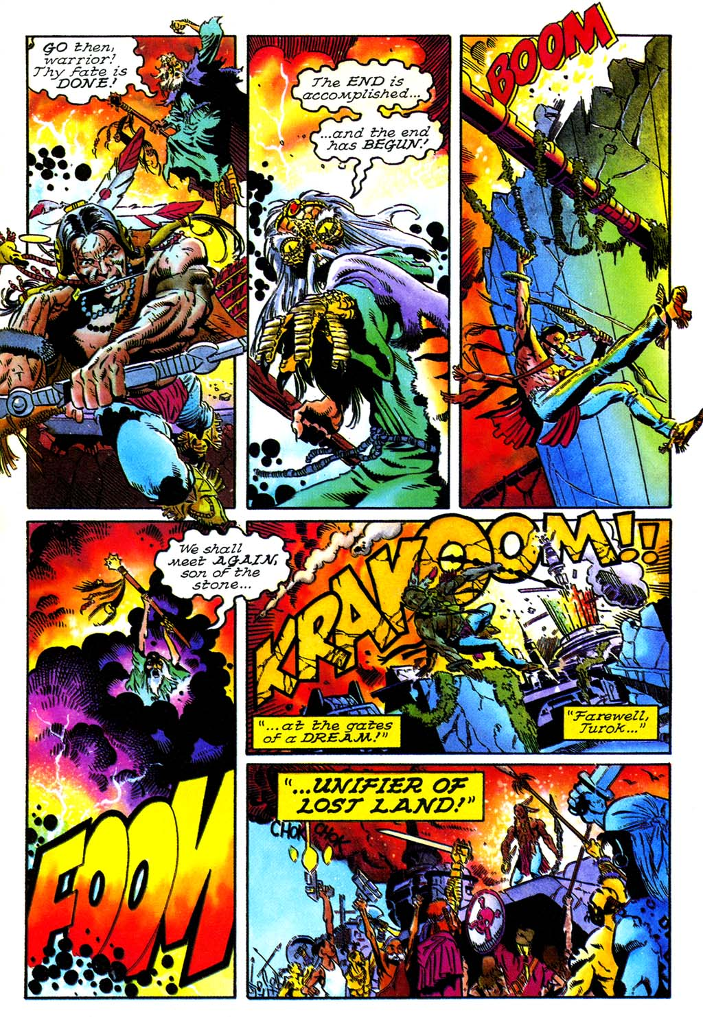 Read online Turok, Dinosaur Hunter (1993) comic -  Issue #27 - 20