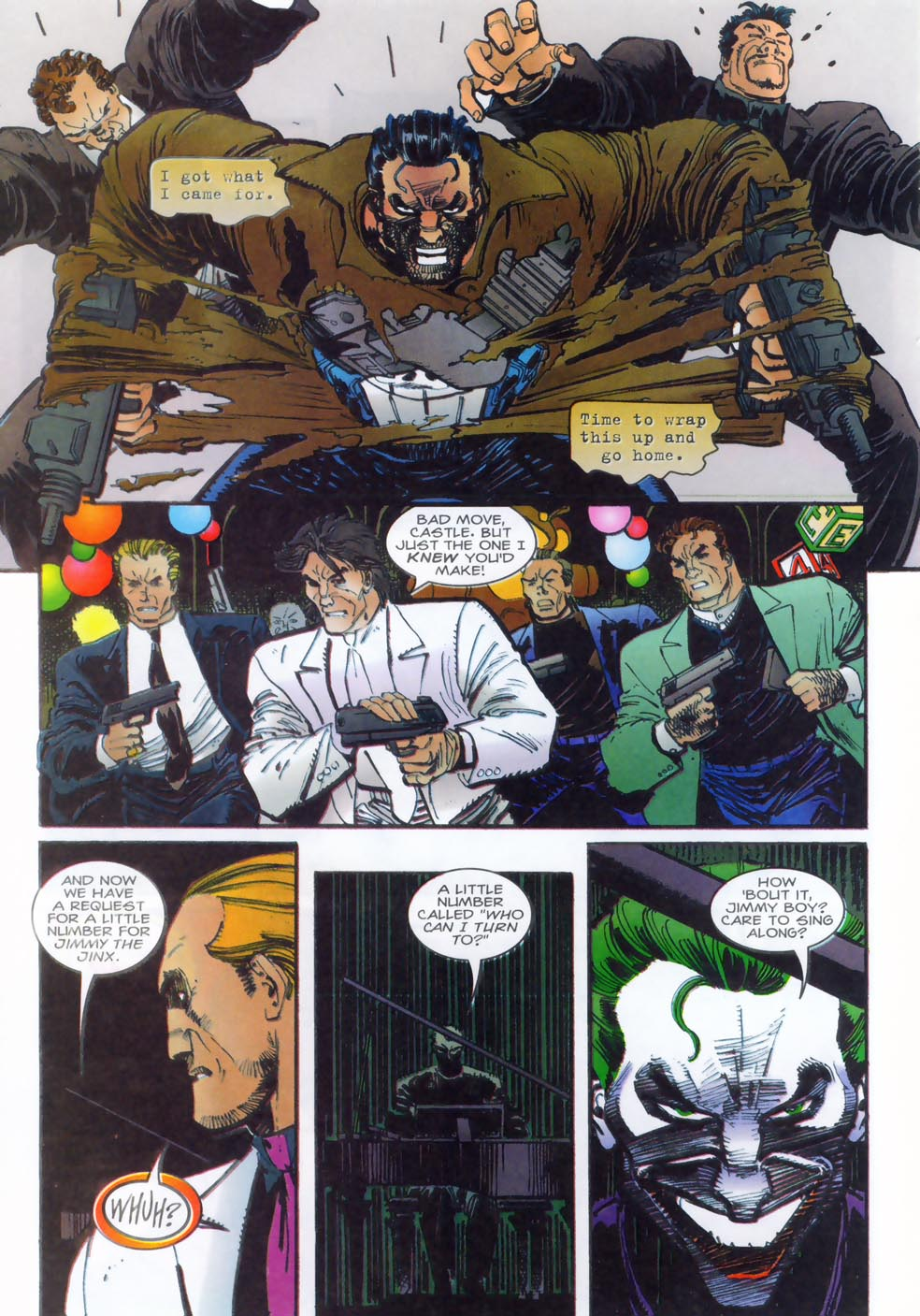 Read online Punisher/Batman: Deadly Knights comic -  Issue # Full - 26