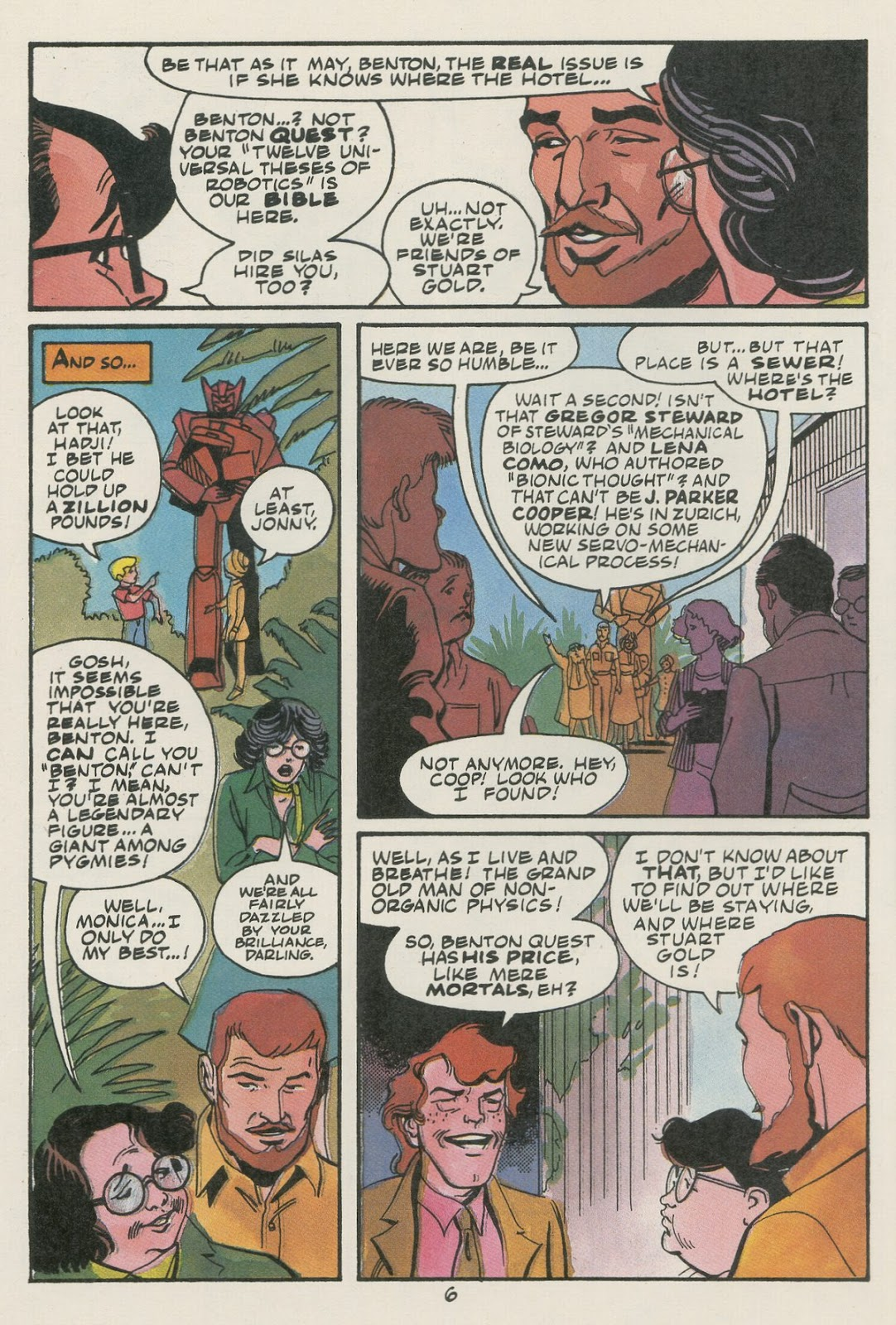 Jonny Quest (1986) issue 17 - Page 8
