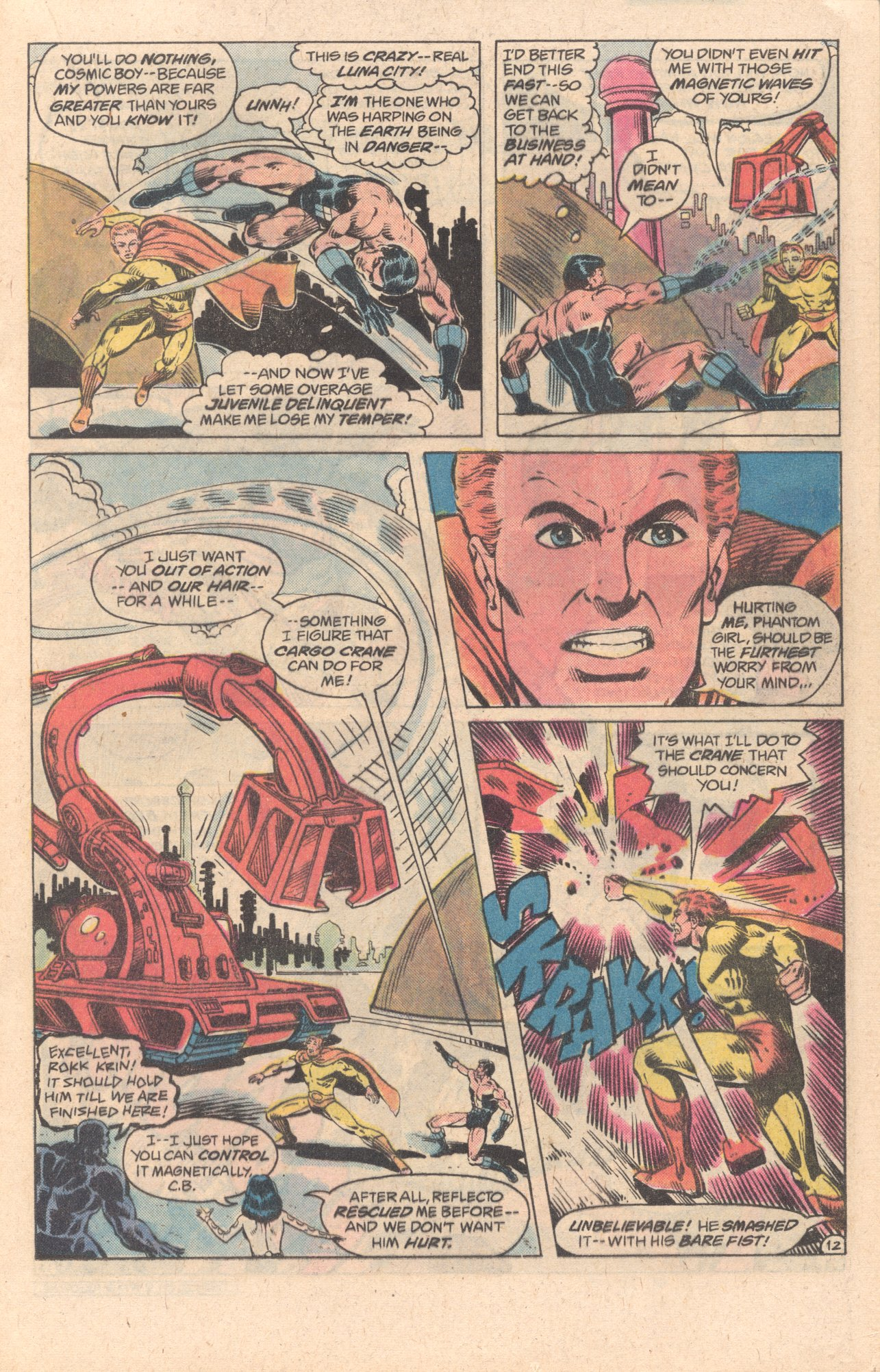 Legion of Super-Heroes (1980) 278 Page 12