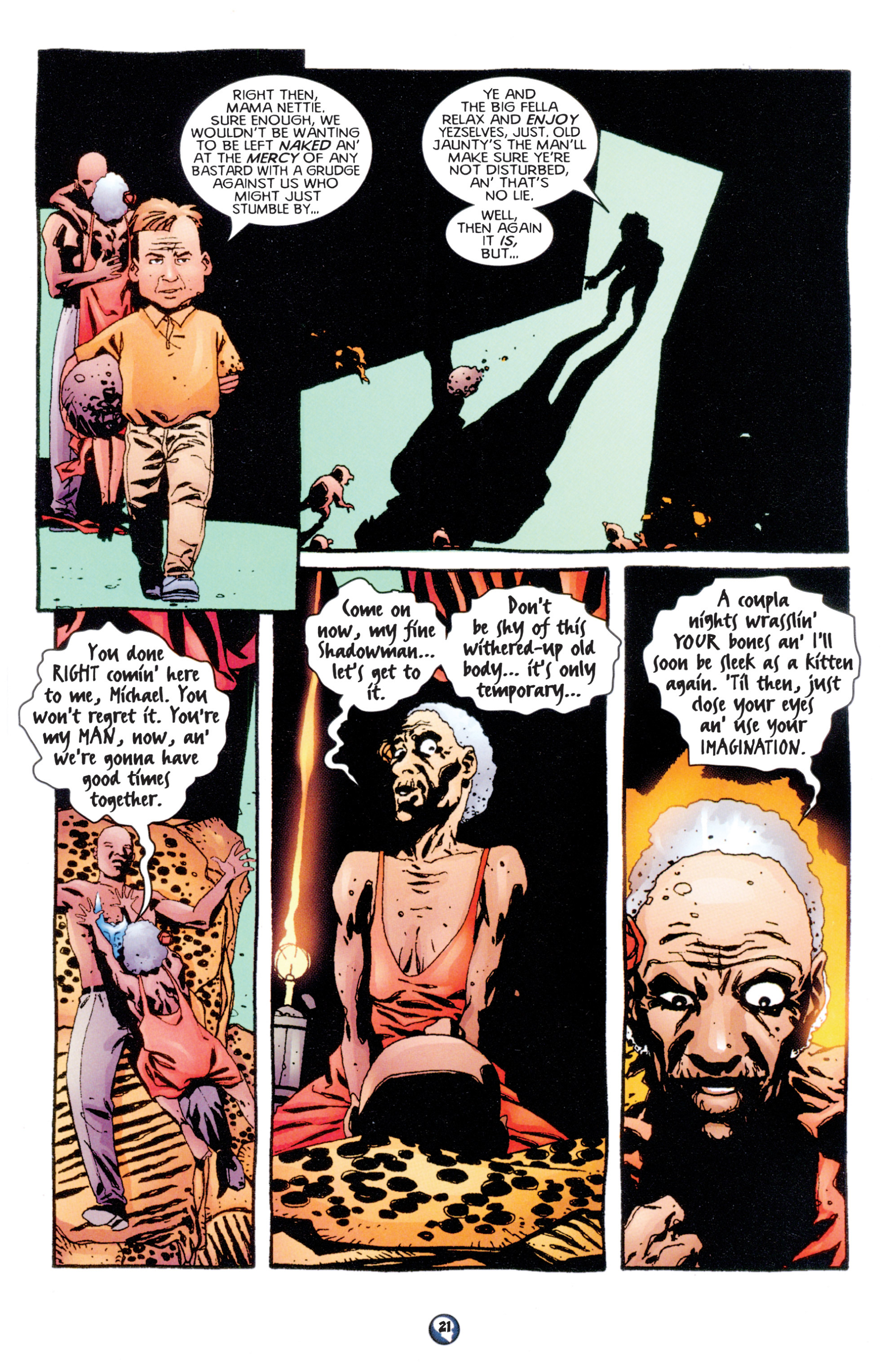 Read online Shadowman (1997) comic -  Issue #7 - 17