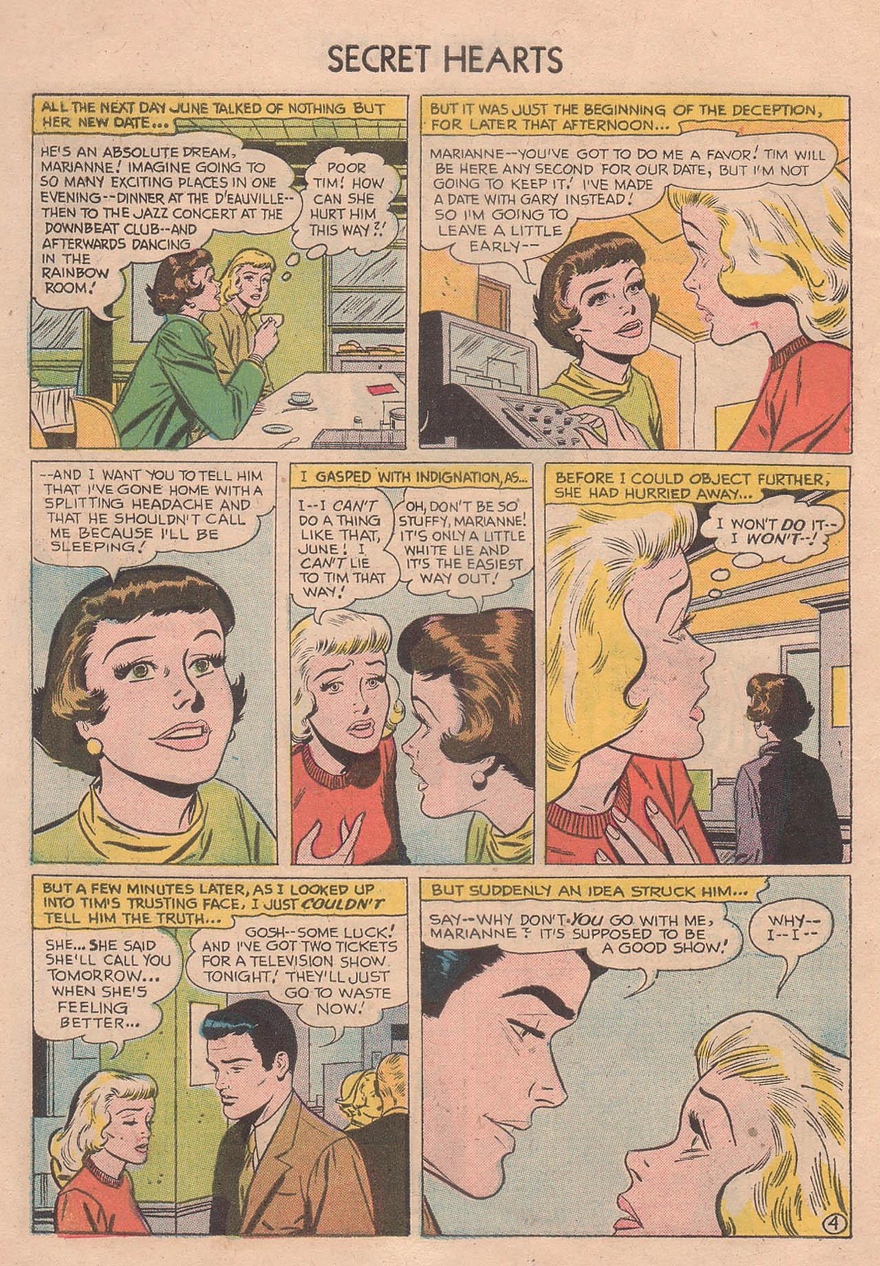 Read online Secret Hearts comic -  Issue #39 - 6