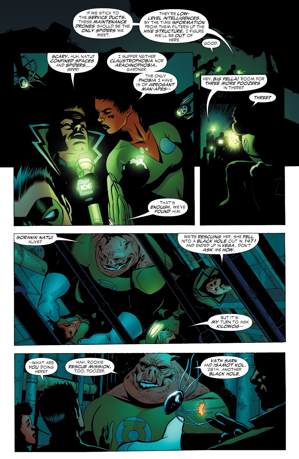 Read online Green Lantern by Geoff Johns comic -  Issue # TPB 1 (Part 3) - 55