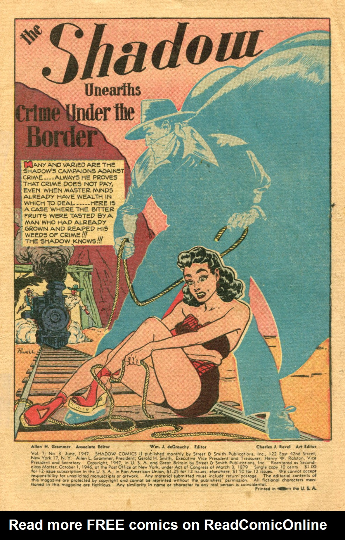 Read online Shadow Comics comic -  Issue #75 - 2