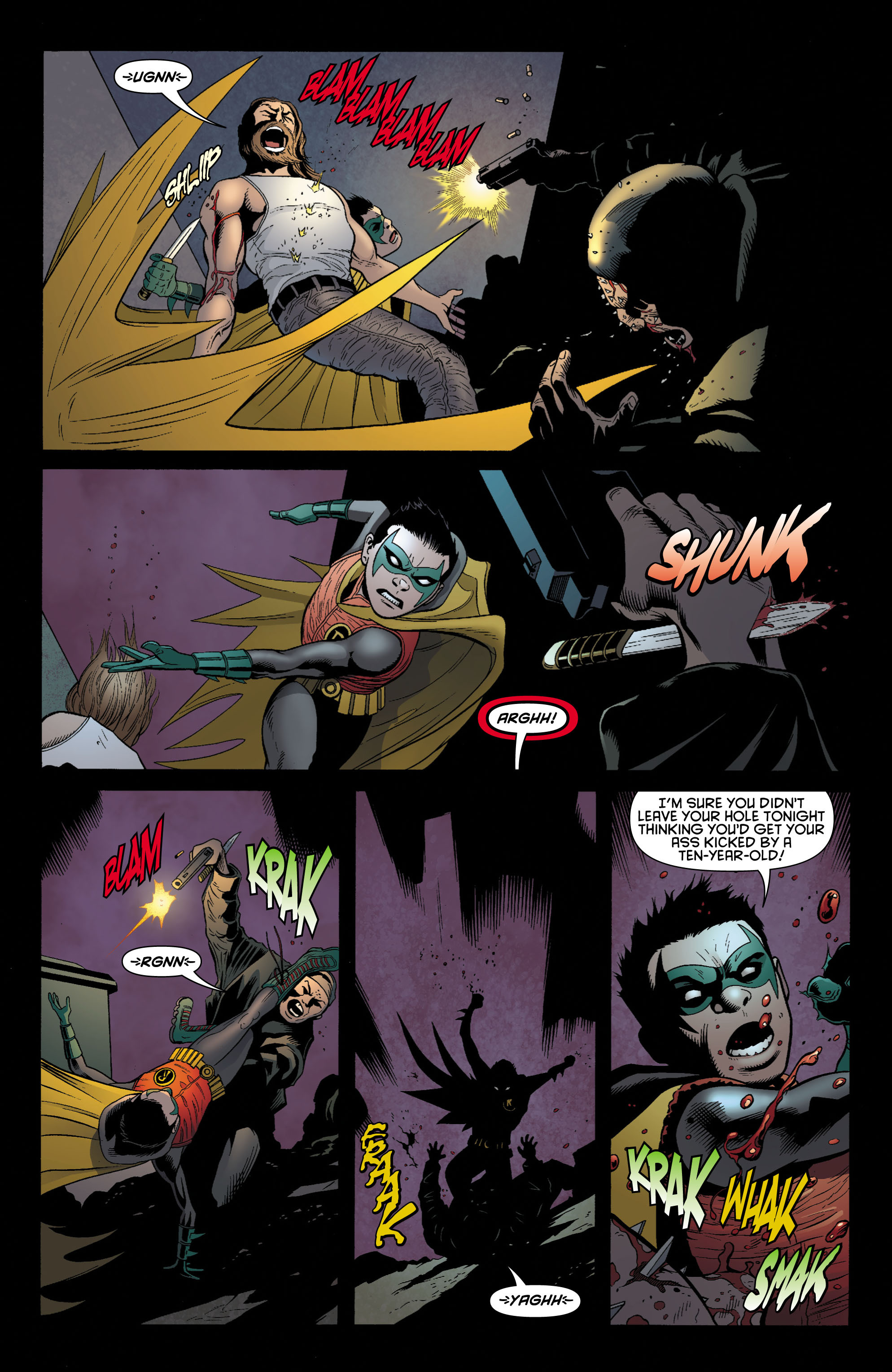 Read online Batman and Robin (2011) comic -  Issue # TPB 1 - 58