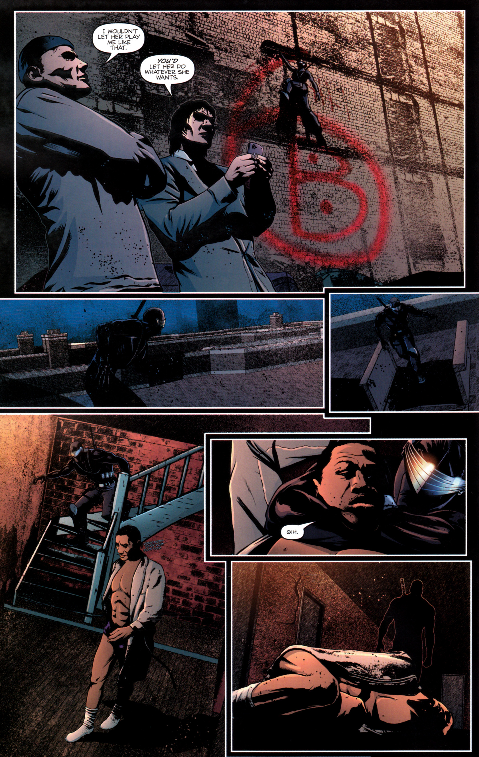 Read online G.I. Joe: Snake Eyes comic -  Issue #12 - 15