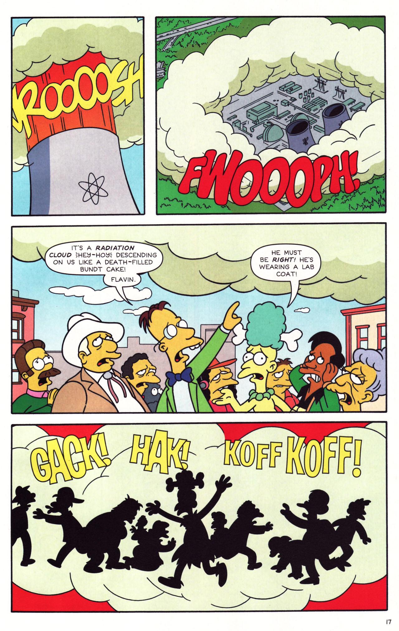 Read online Simpsons Comics comic -  Issue #137 - 14