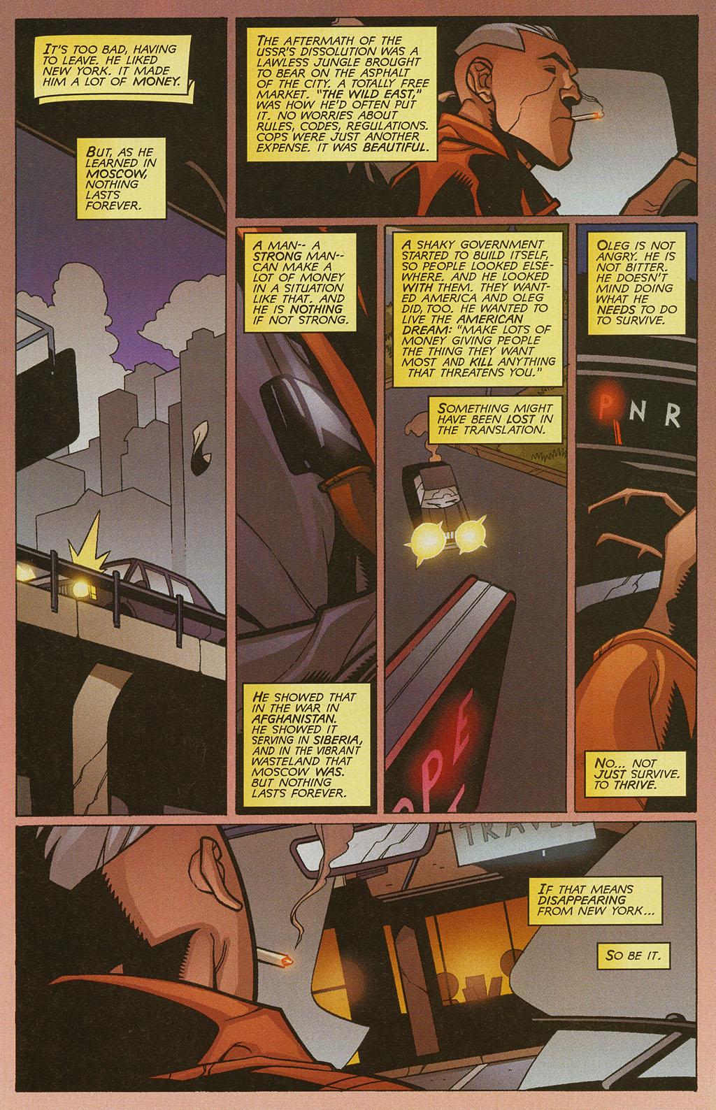 Read online Nightcrawler (2002) comic -  Issue #4 - 9