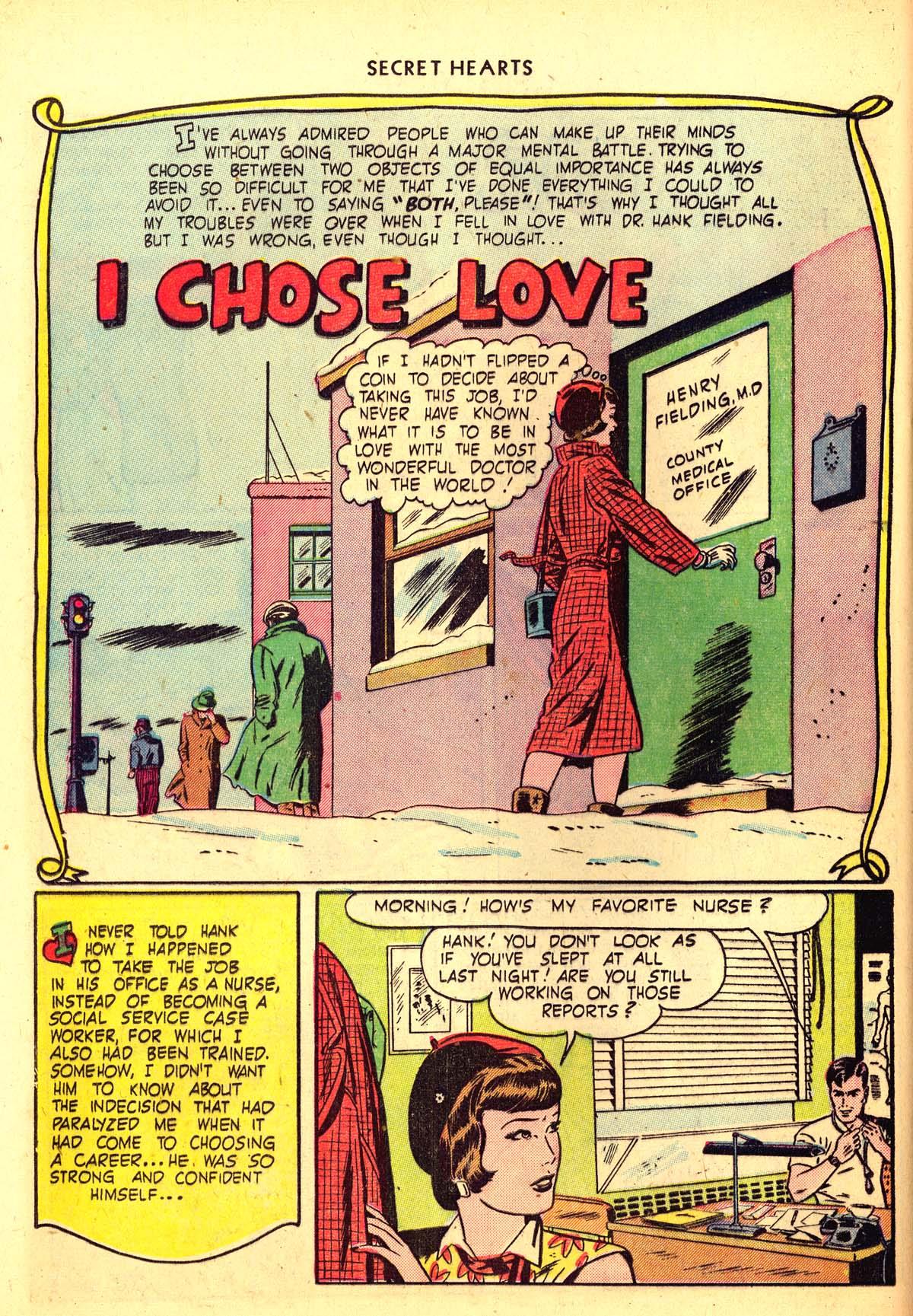 Read online Secret Hearts comic -  Issue #6 - 30