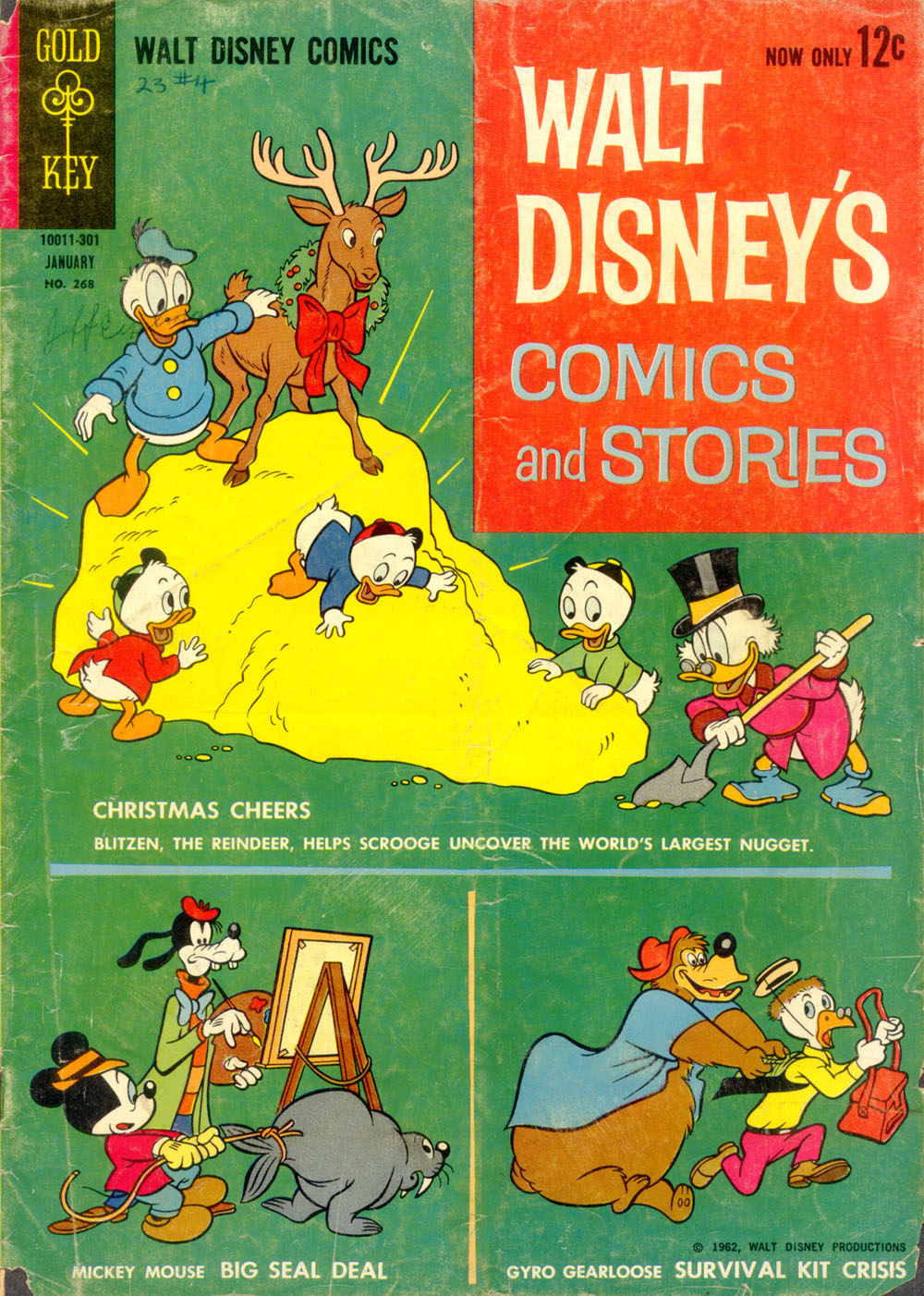 Walt Disney's Comics and Stories issue 268 - Page 1