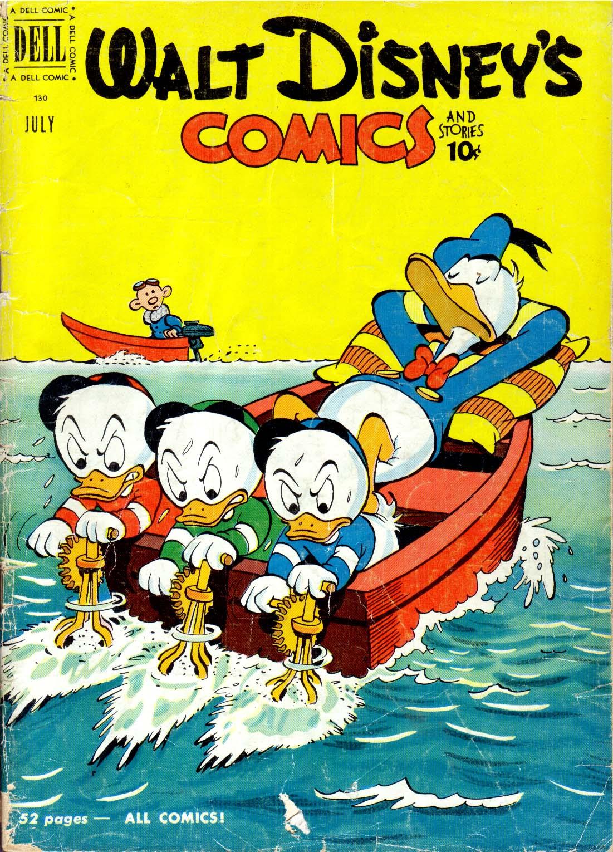 Walt Disneys Comics and Stories 130 Page 1