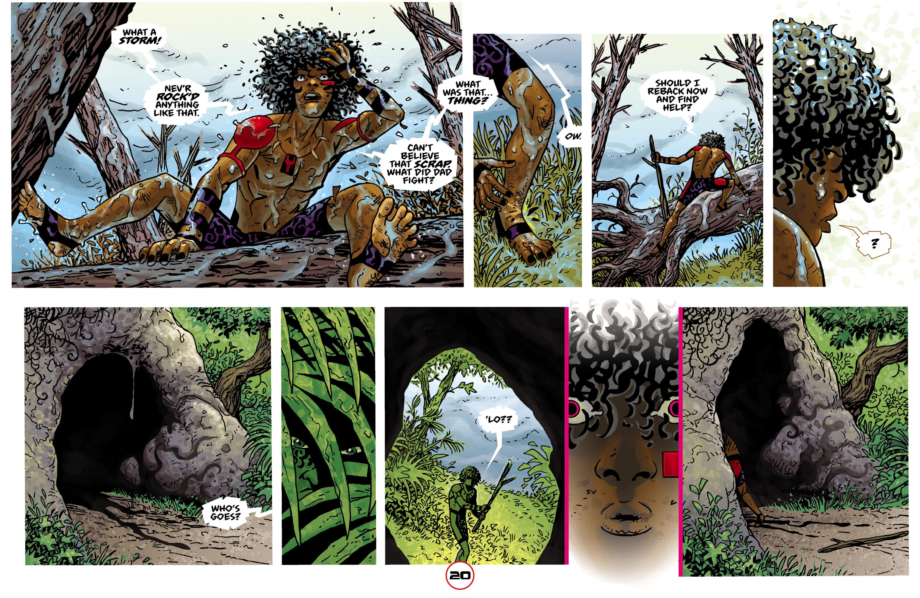 Read online Adam.3 comic -  Issue #2 - 22