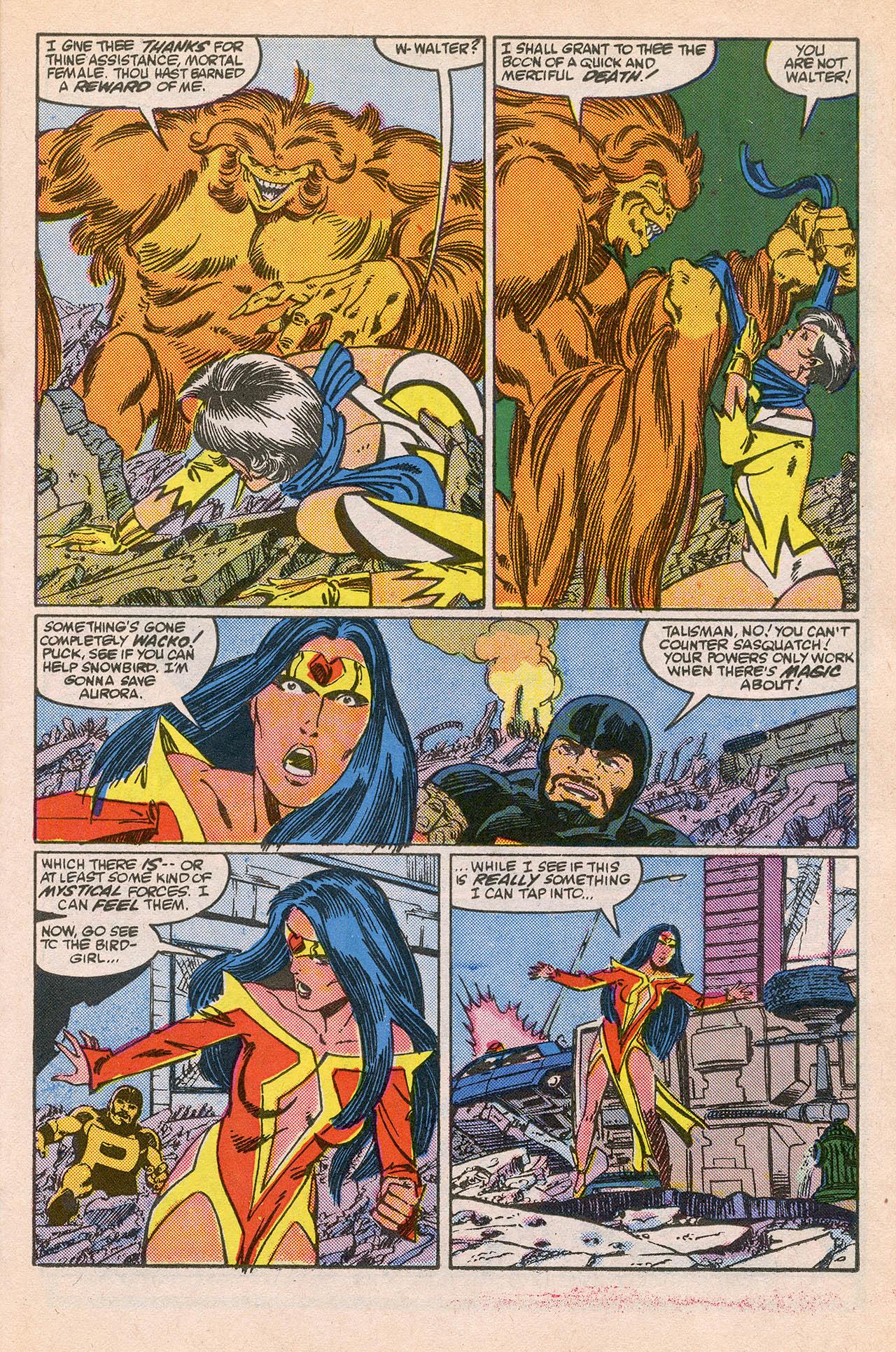 Read online Alpha Flight (1983) comic -  Issue #23 - 21
