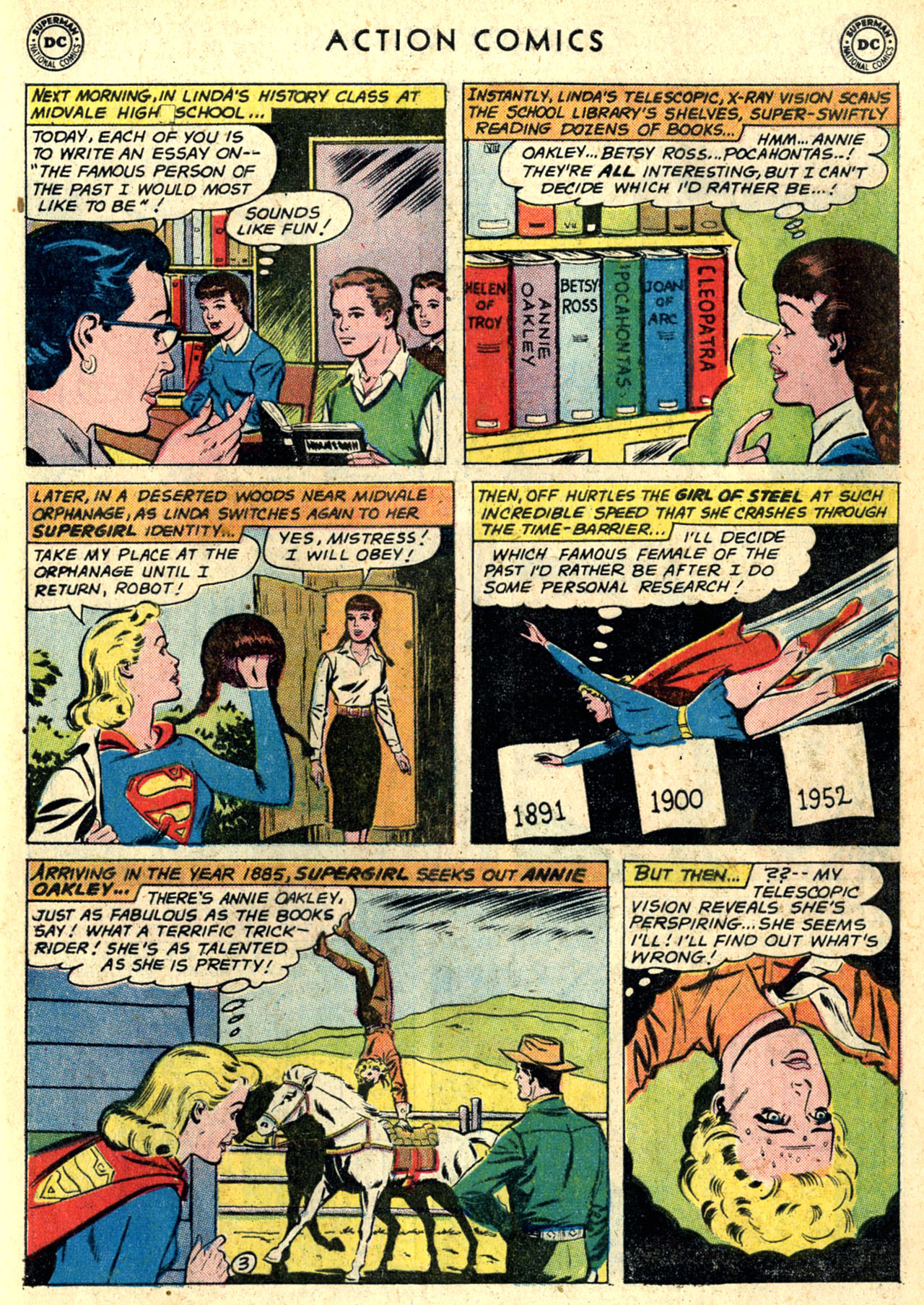Read online Action Comics (1938) comic -  Issue #274 - 21
