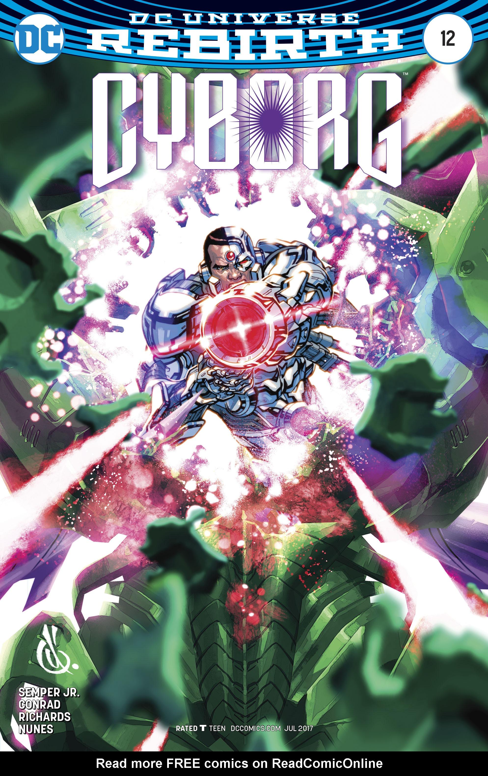 Read online Cyborg (2016) comic -  Issue #12 - 3