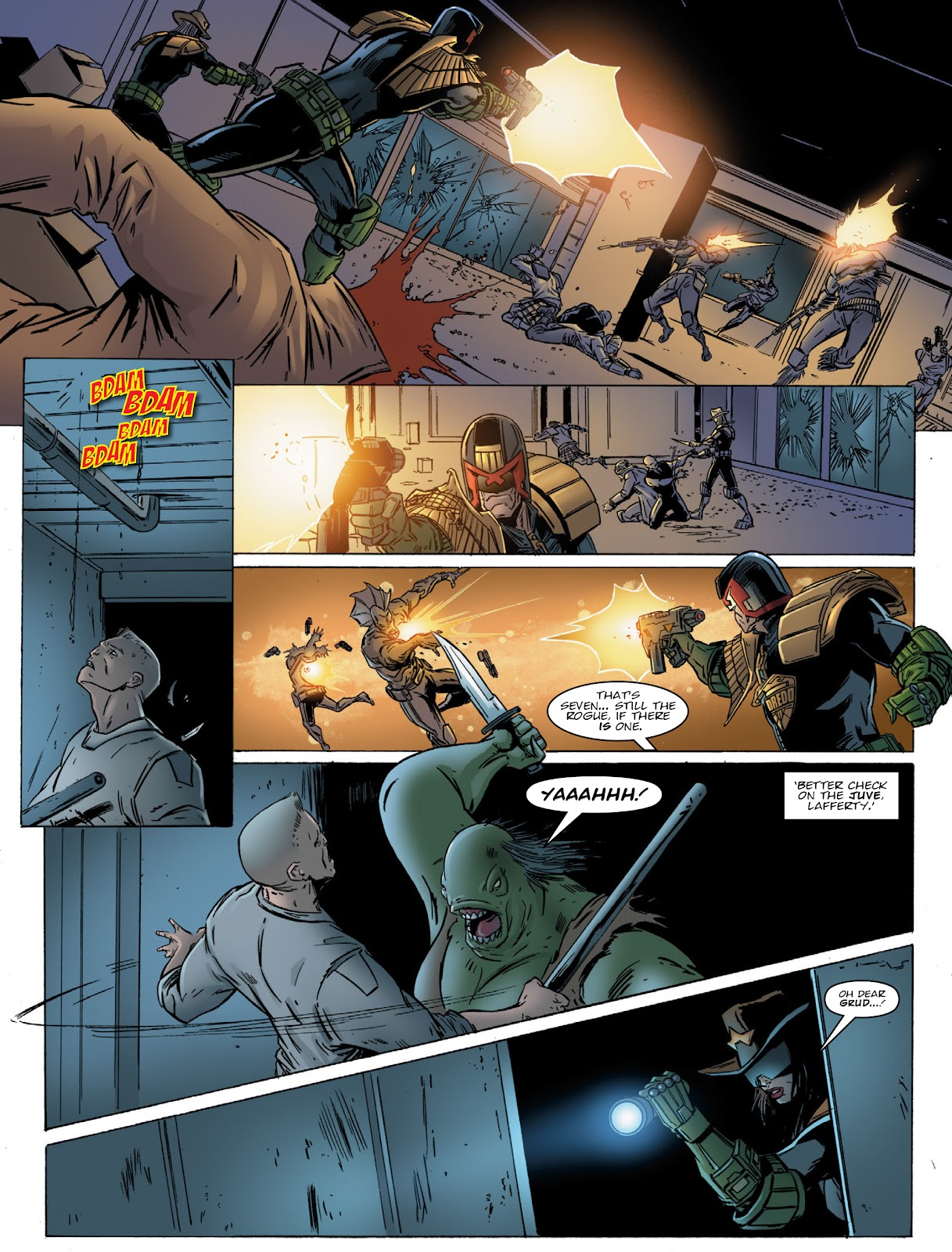 Judge Dredd Megazine (Vol. 5) Issue #381 #180 - English 13