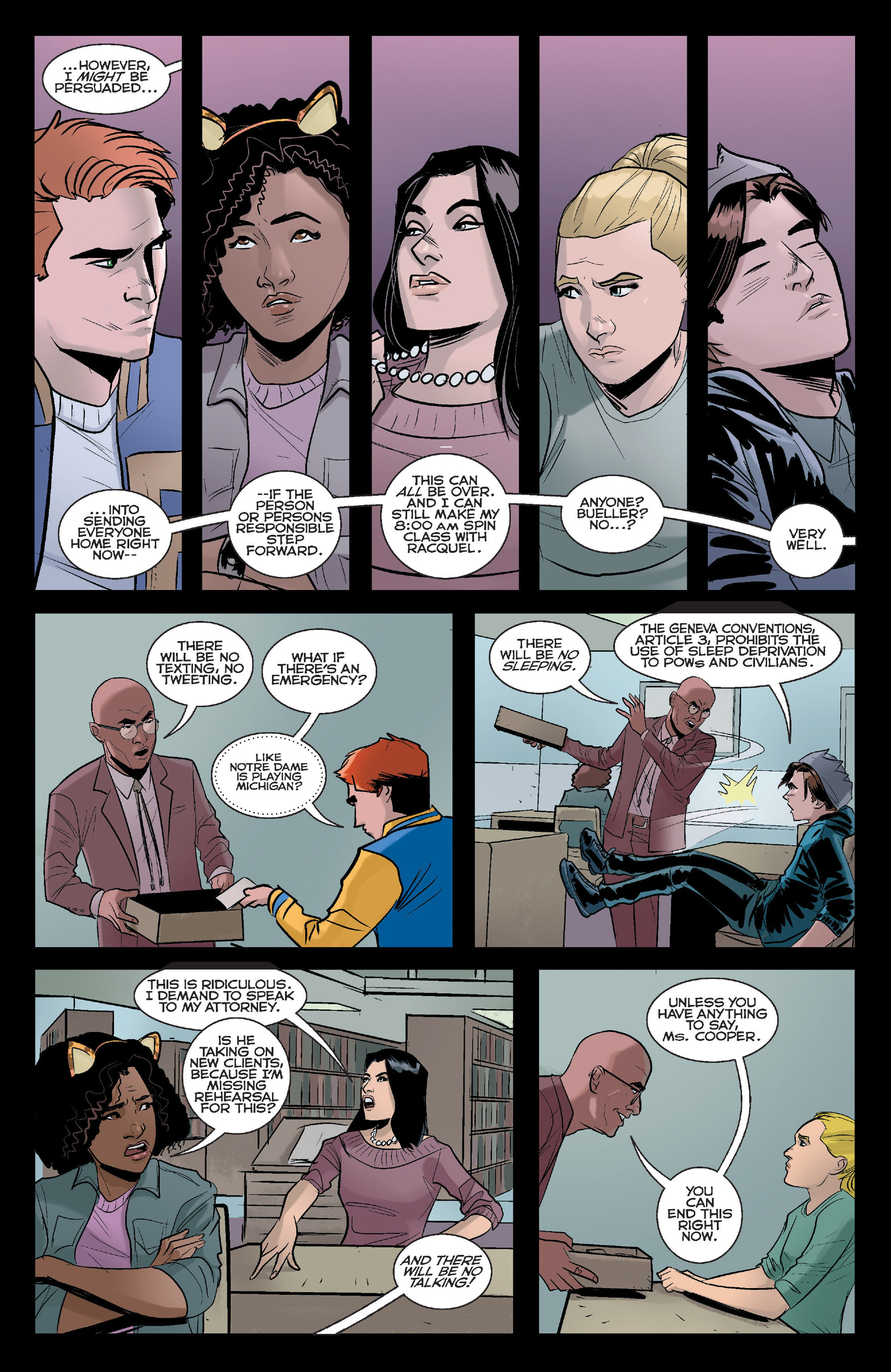 Read online Riverdale comic -  Issue #2 - 5