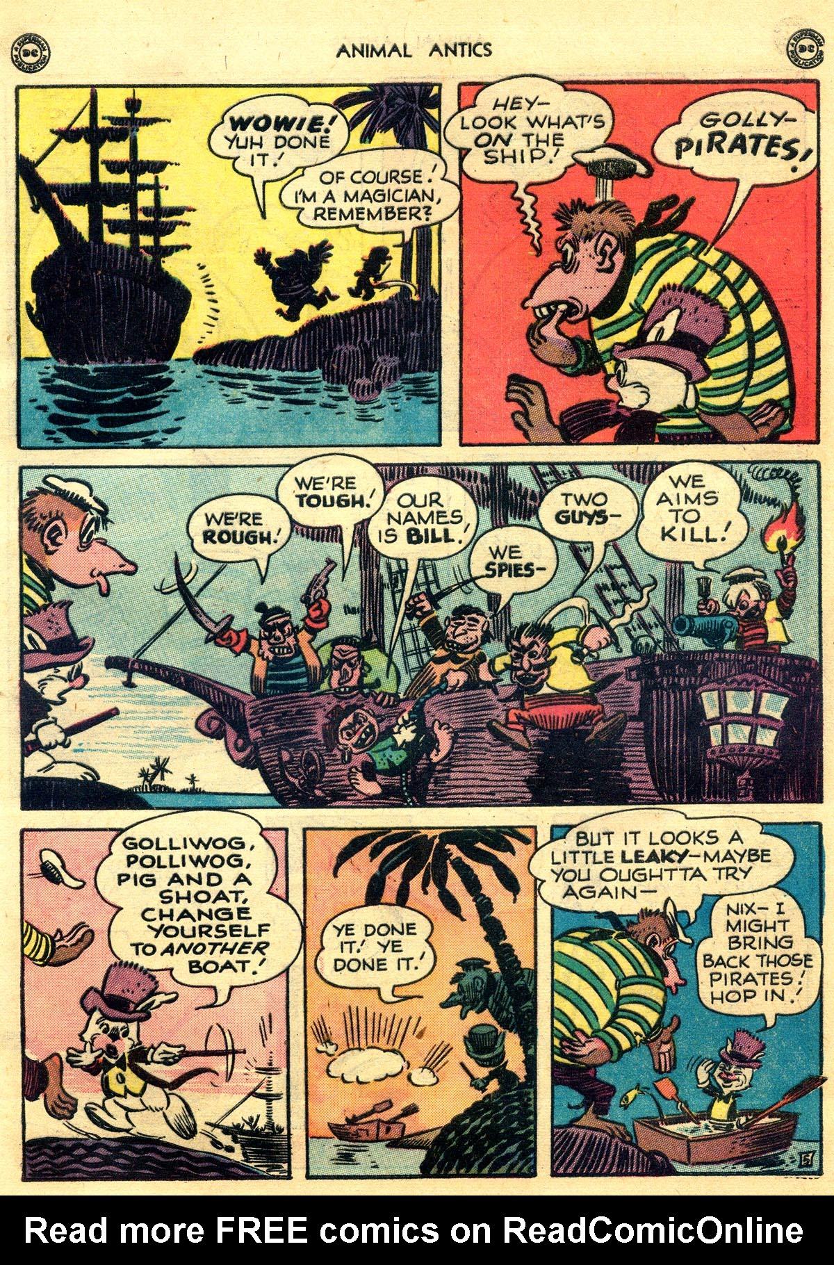 Read online Animal Antics comic -  Issue #10 - 7