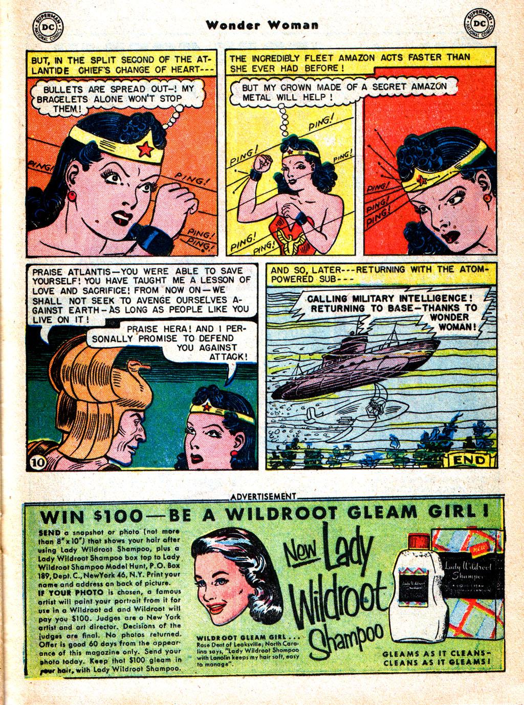 Read online Wonder Woman (1942) comic -  Issue #57 - 26