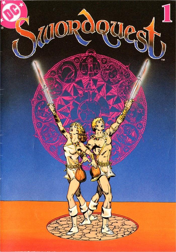 Swordquest (1982) 1 Page 1