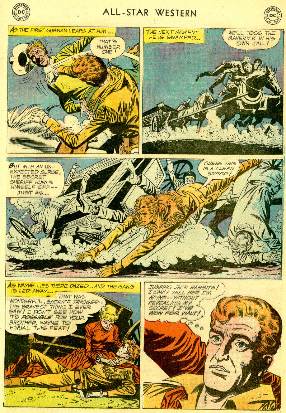 Read online All-Star Western (1951) comic -  Issue #103 - 11