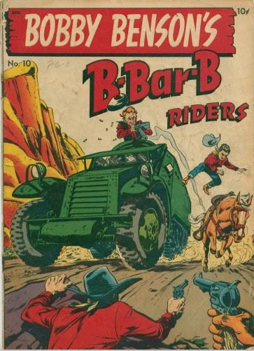 Bobby Benson's B-Bar-B Riders issue 10 - Page 1