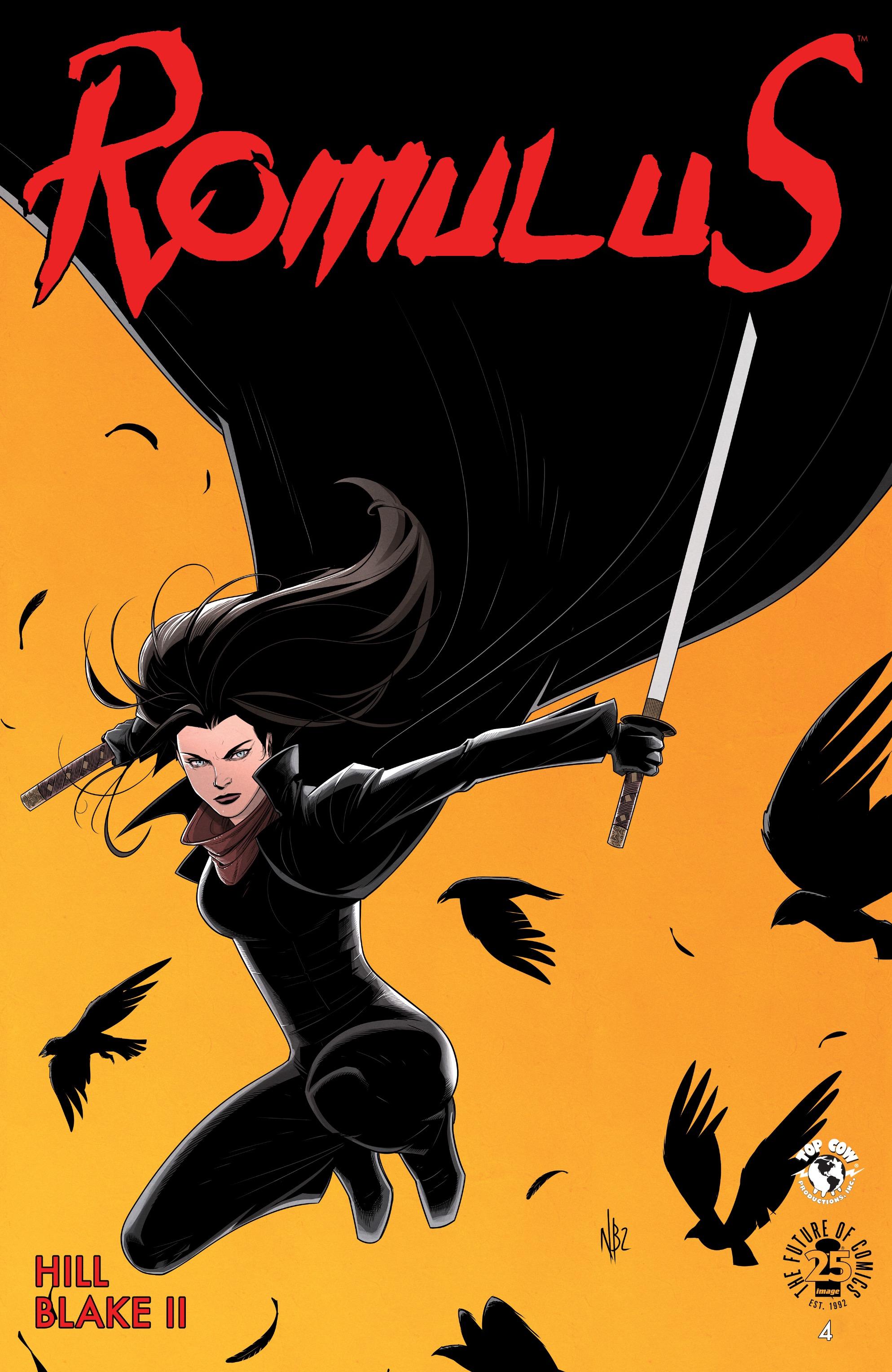 Read online Romulus comic -  Issue #4 - 1