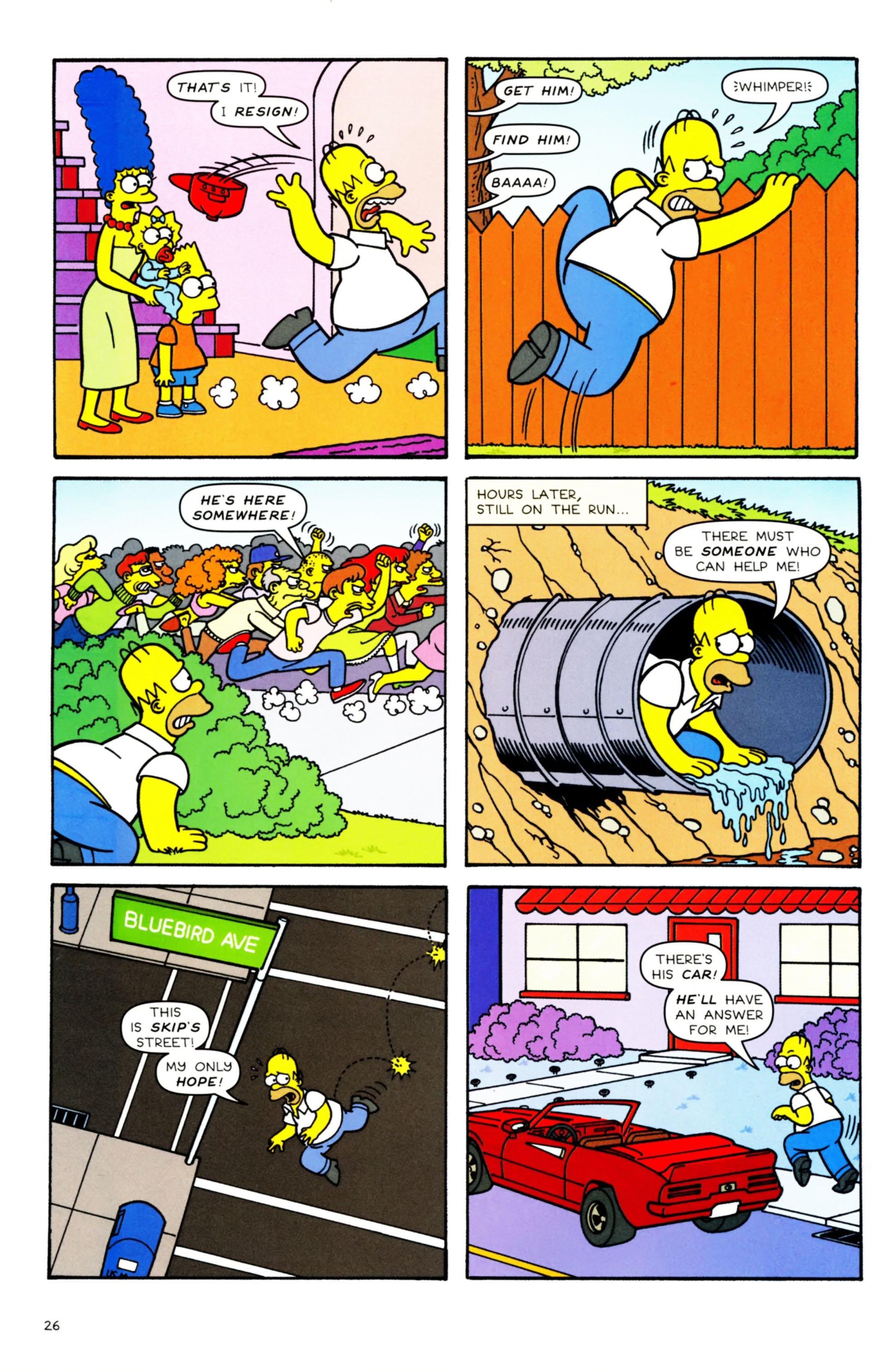 Read online Simpsons Comics comic -  Issue #158 - 22