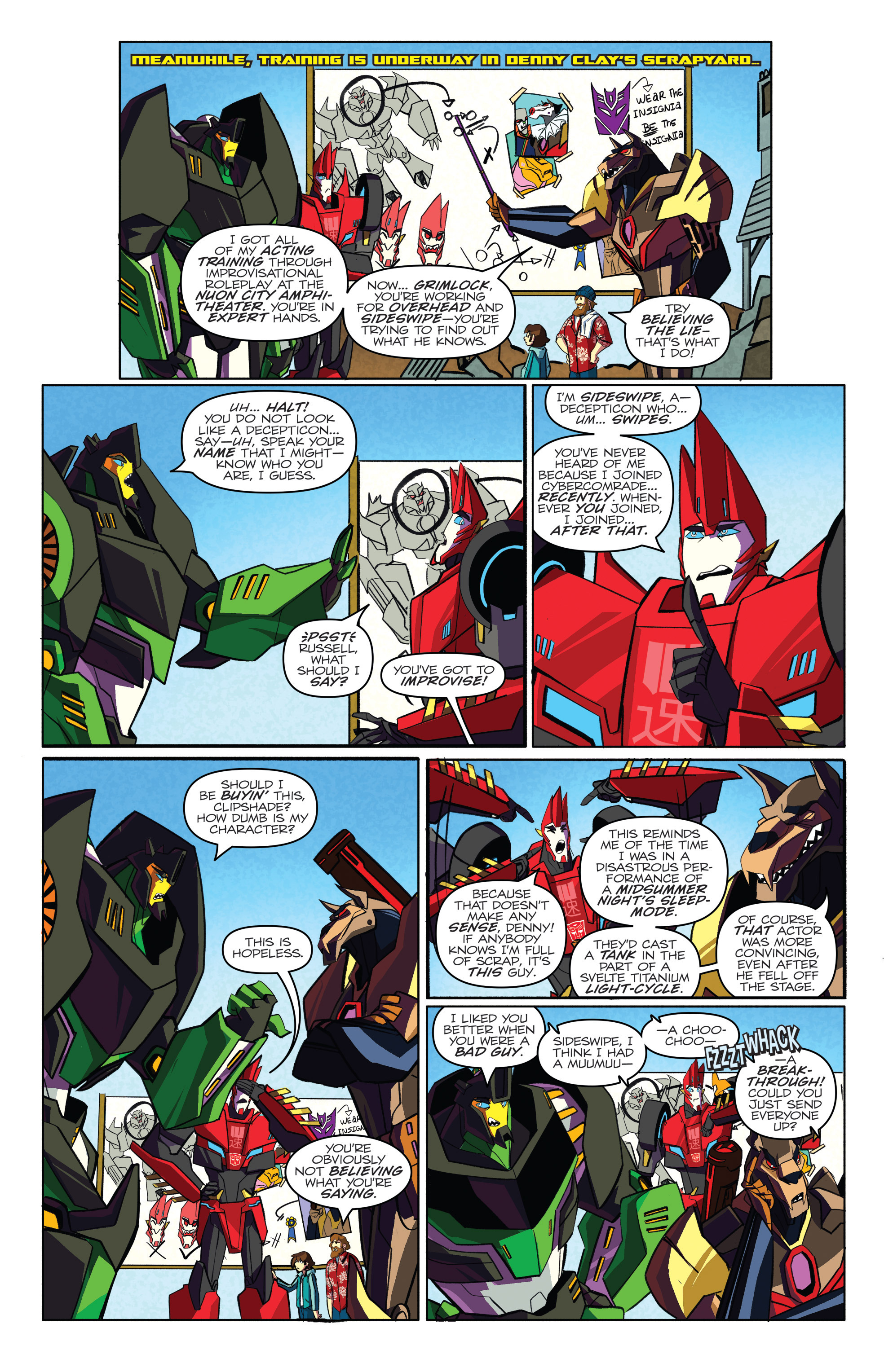 Read online Transformers: Robots In Disguise (2015) comic -  Issue #4 - 11