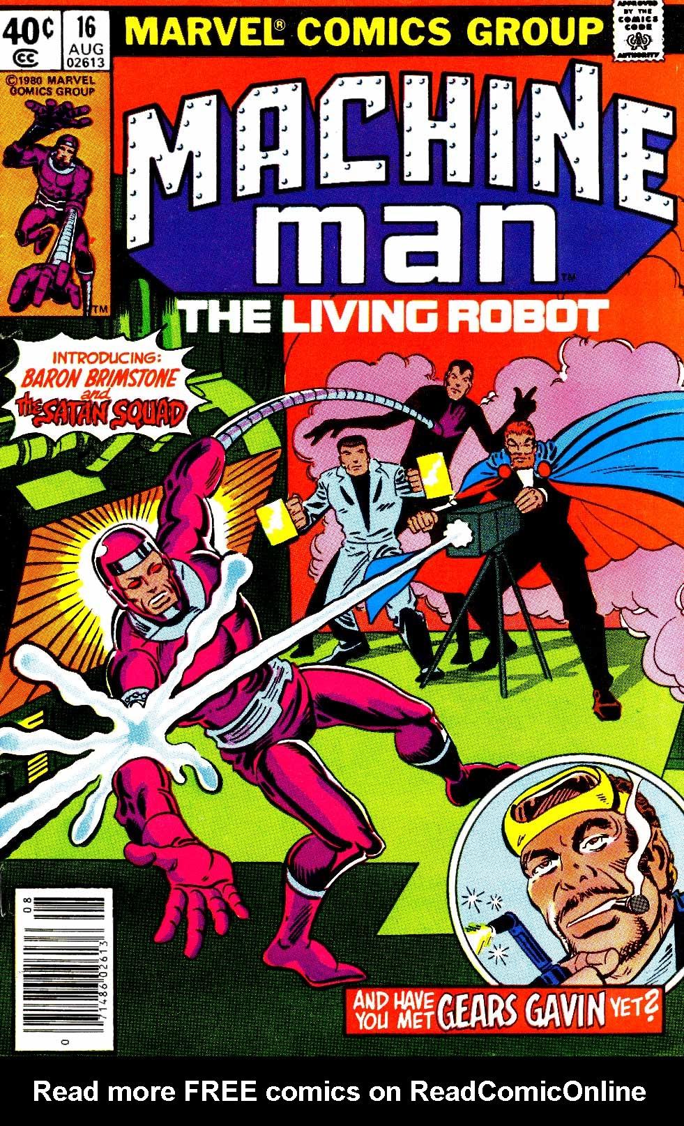 Machine Man (1978) issue 16 - Page 1