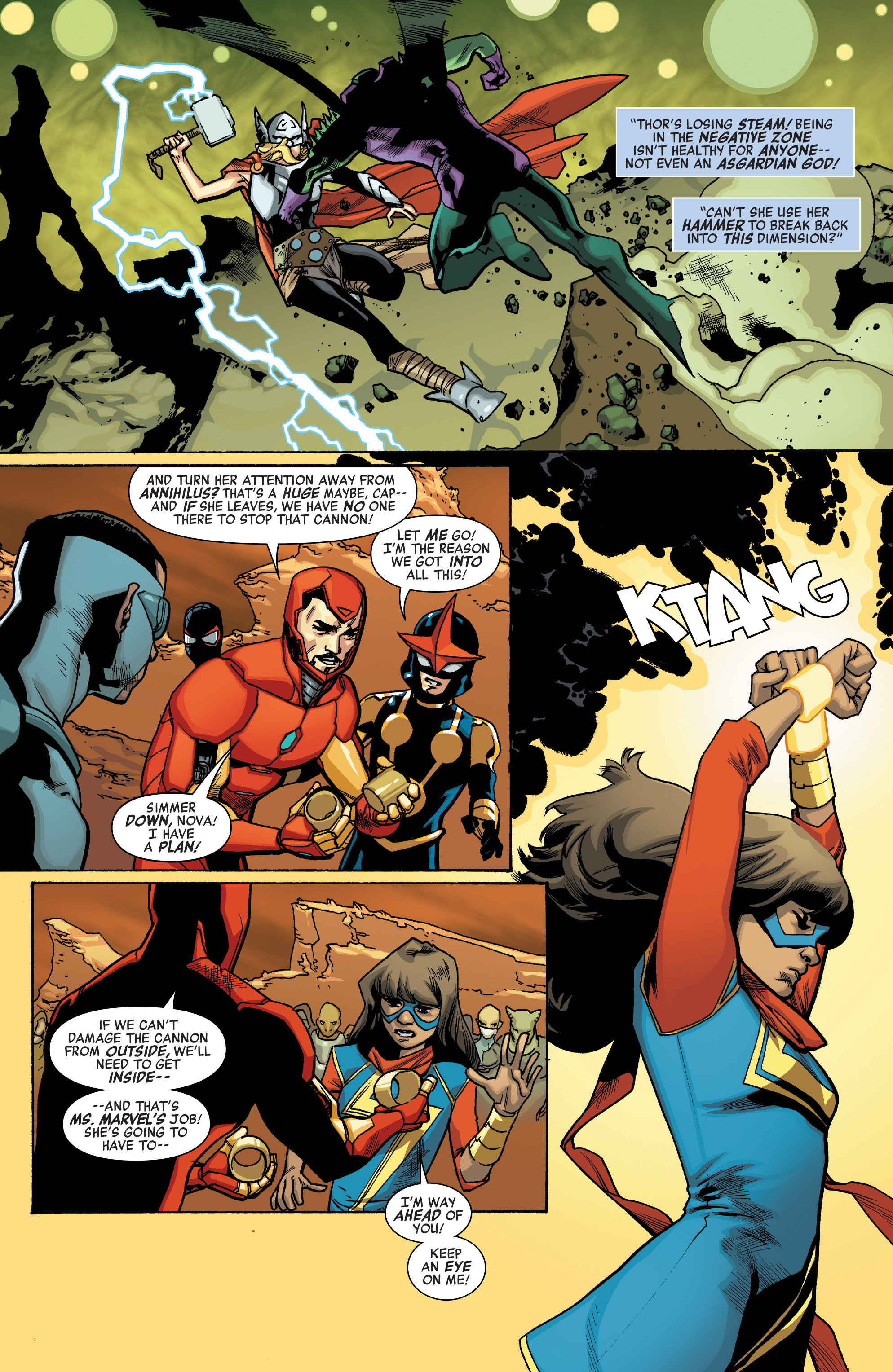 Read online All-New, All-Different Avengers comic -  Issue #12 - 12