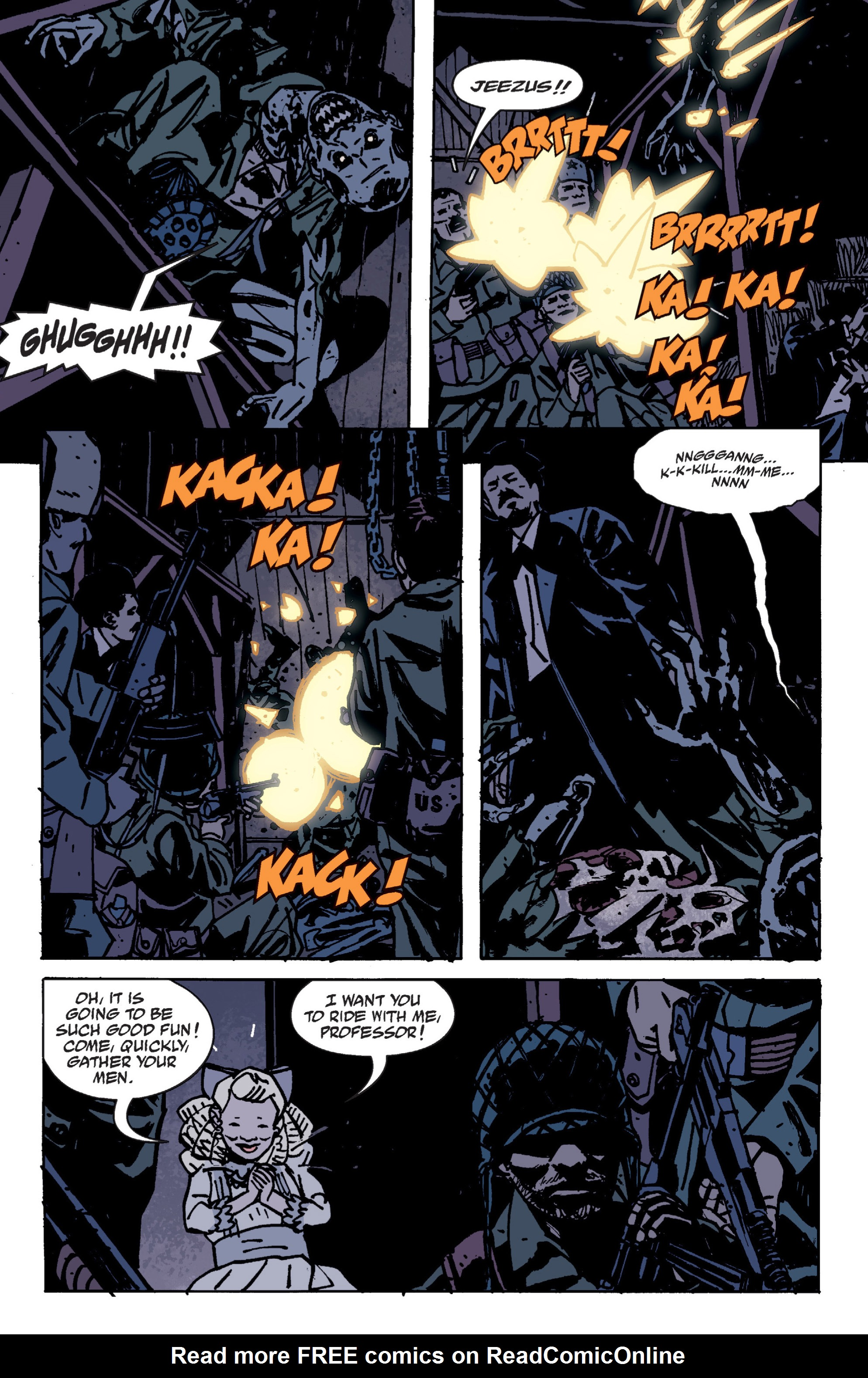 Read online B.P.R.D. (2003) comic -  Issue # TPB 9 - 49