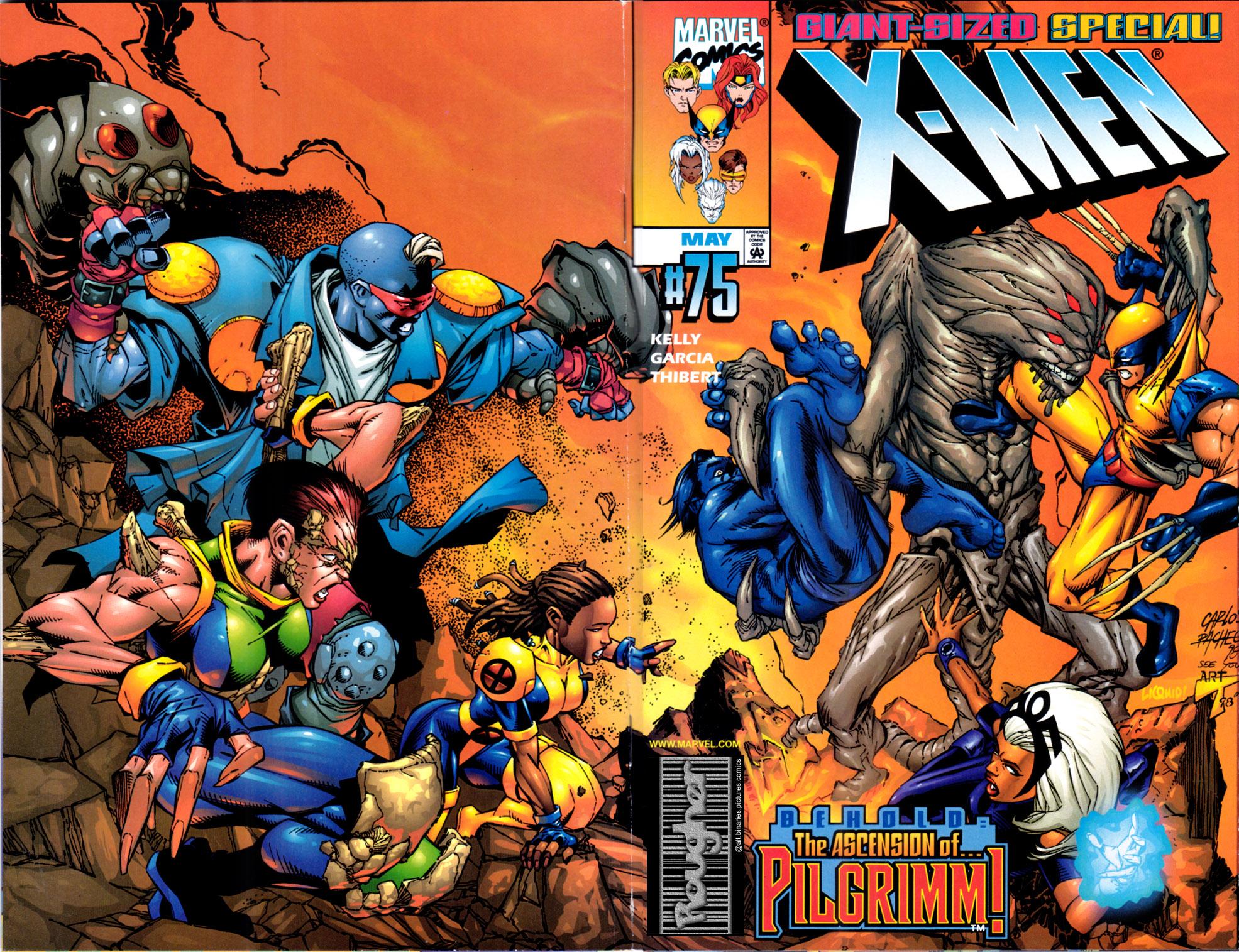 X-Men (1991) 75 Page 0