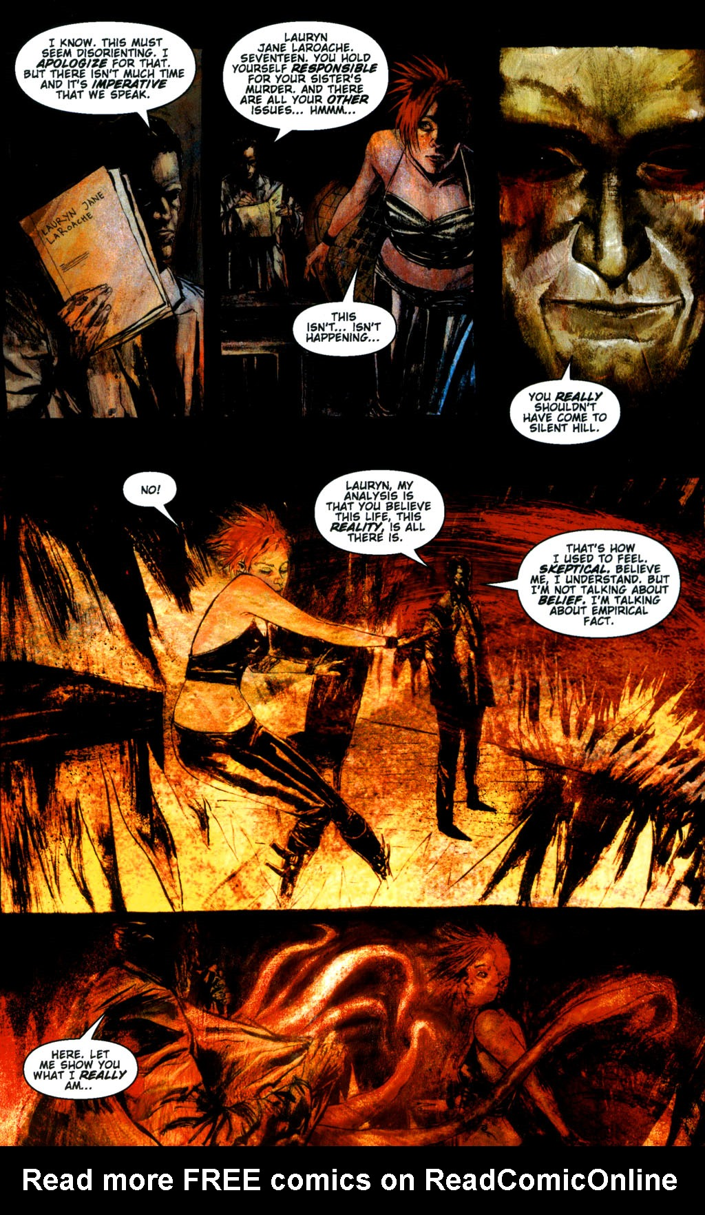 Read online Silent Hill: Dying Inside comic -  Issue #3 - 15
