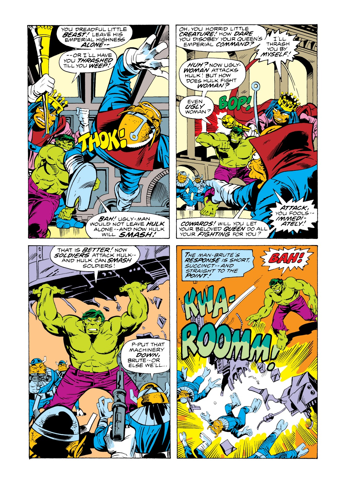 Read online Marvel Masterworks: The Incredible Hulk comic -  Issue # TPB 11 (Part 2) - 45