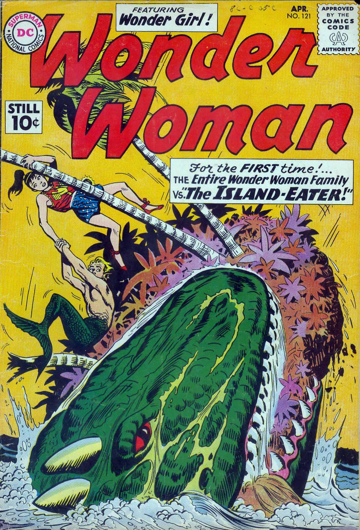 Read online Wonder Woman (1942) comic -  Issue #121 - 1