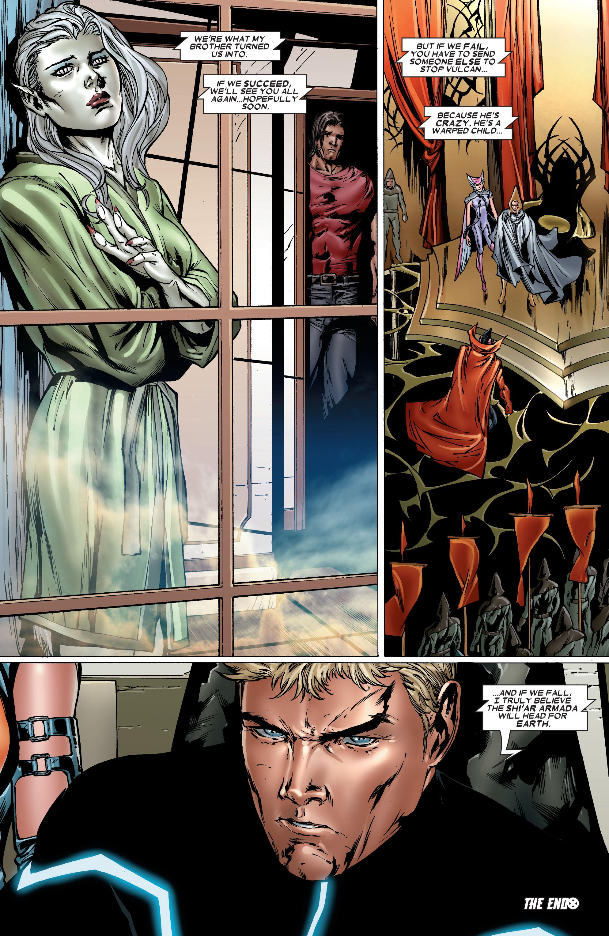 Read online Uncanny X-Men (1963) comic -  Issue #486 - 25