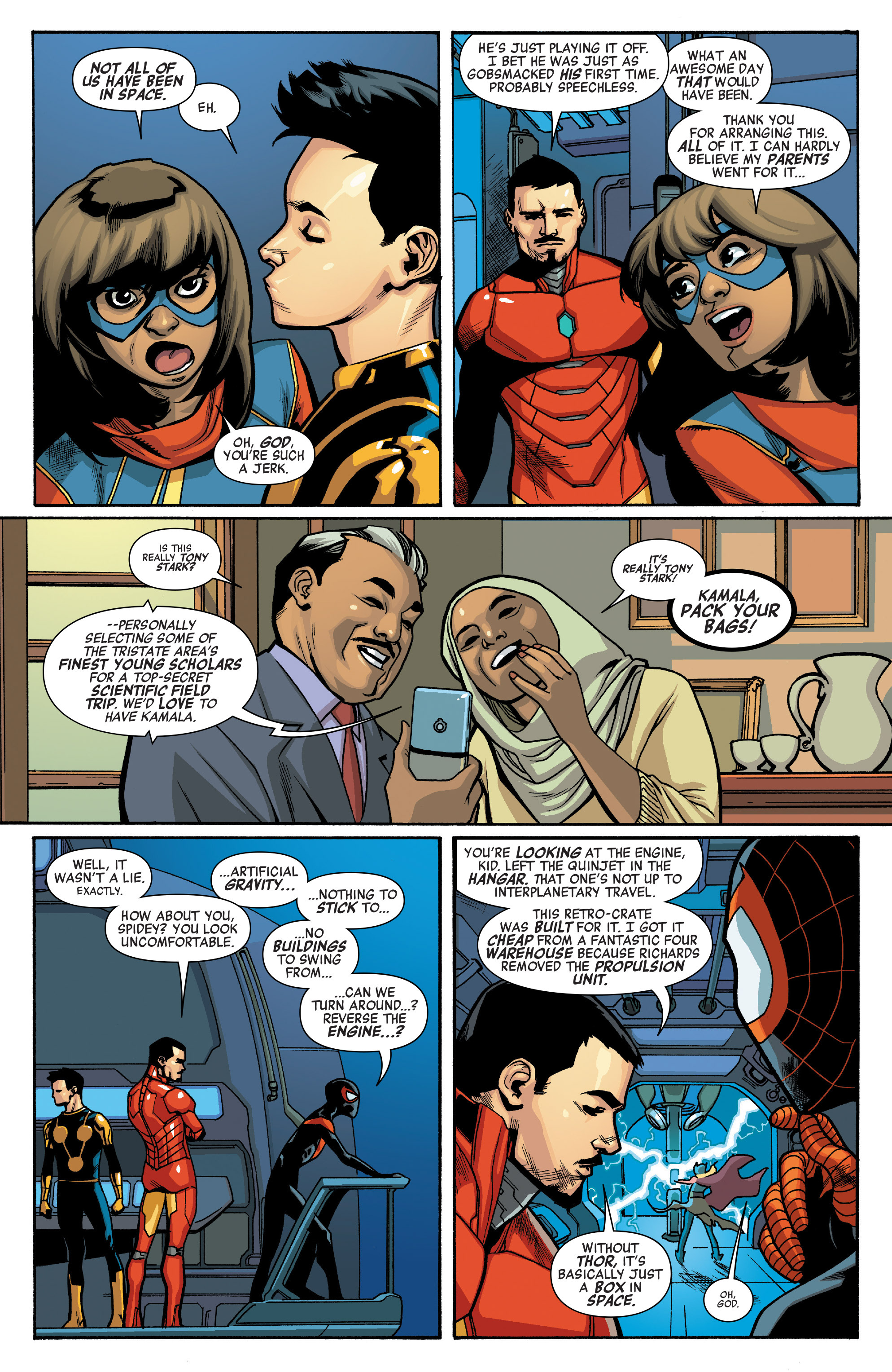Read online All-New, All-Different Avengers comic -  Issue #10 - 5