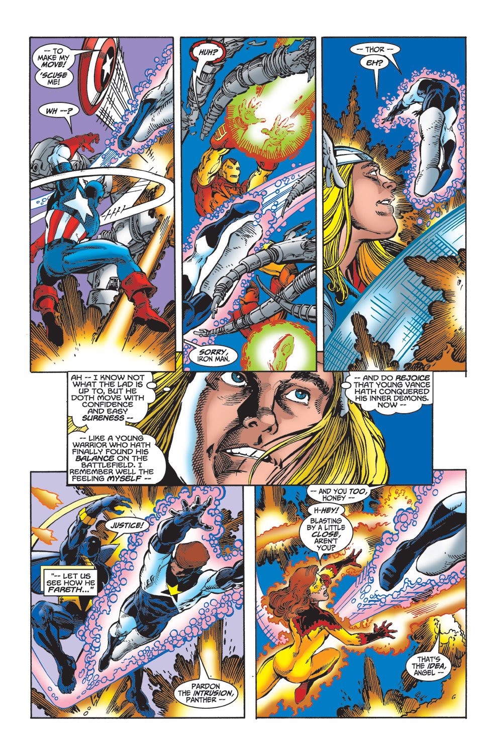 Read online Avengers (1998) comic -  Issue #23 - 5